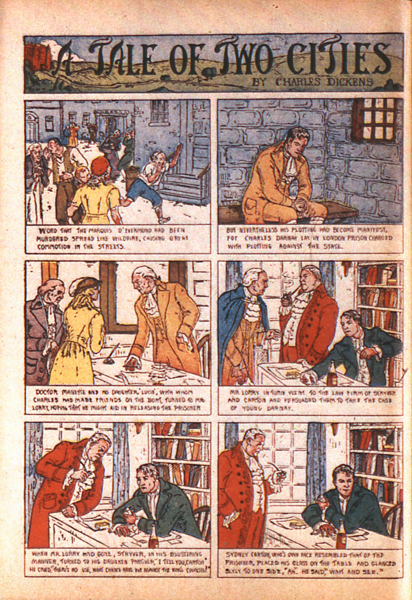 Read online Adventure Comics (1938) comic -  Issue #8 - 55