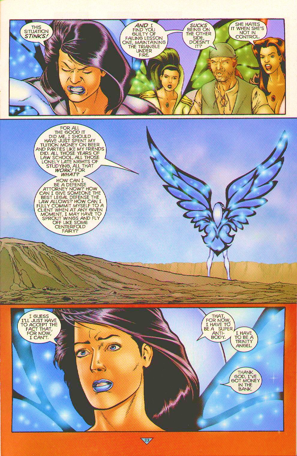 Read online Trinity Angels comic -  Issue #5 - 17