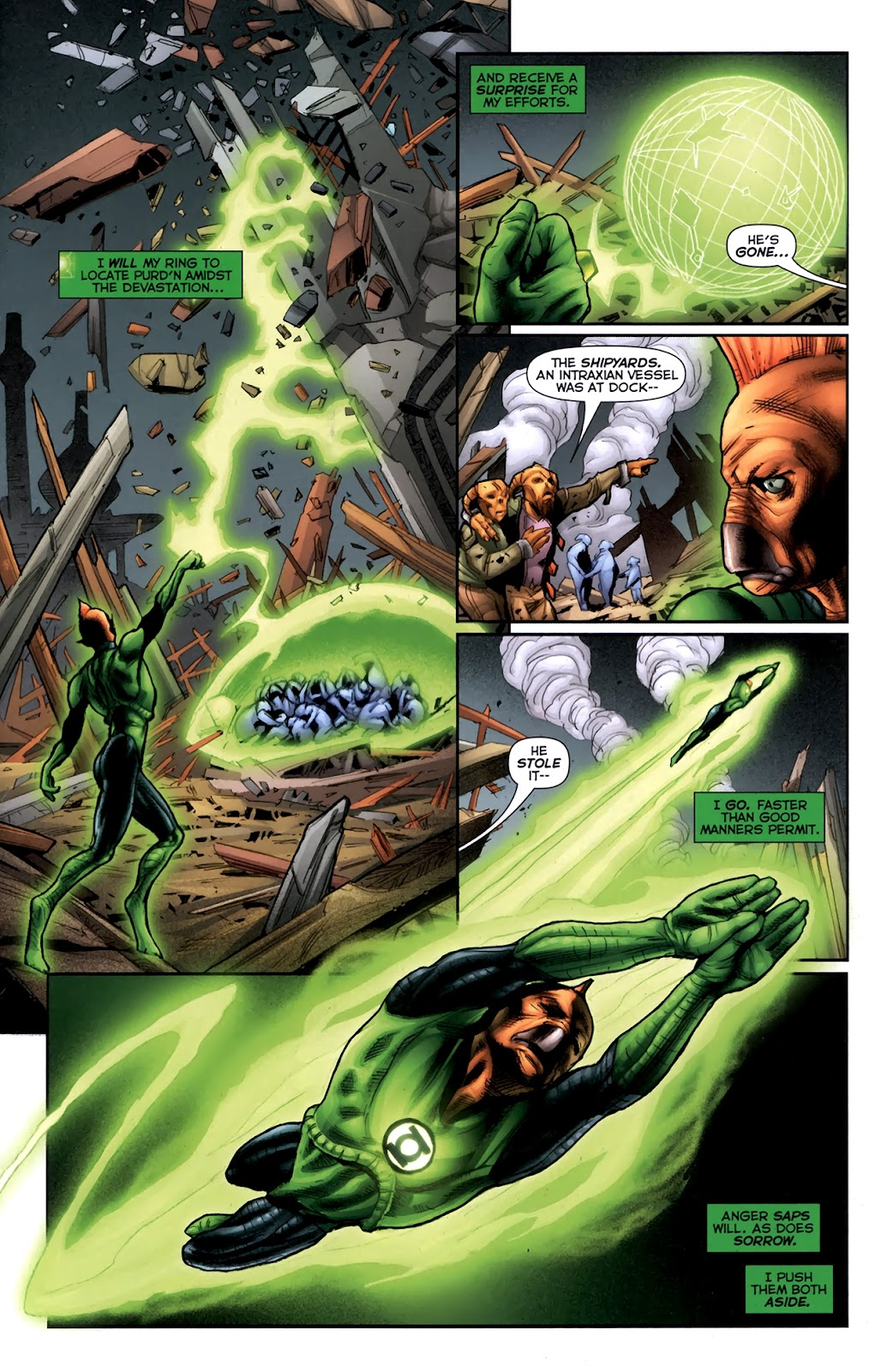 Read online Green Lantern Movie Prequel: Tomar-Re comic -  Issue # Full - 6