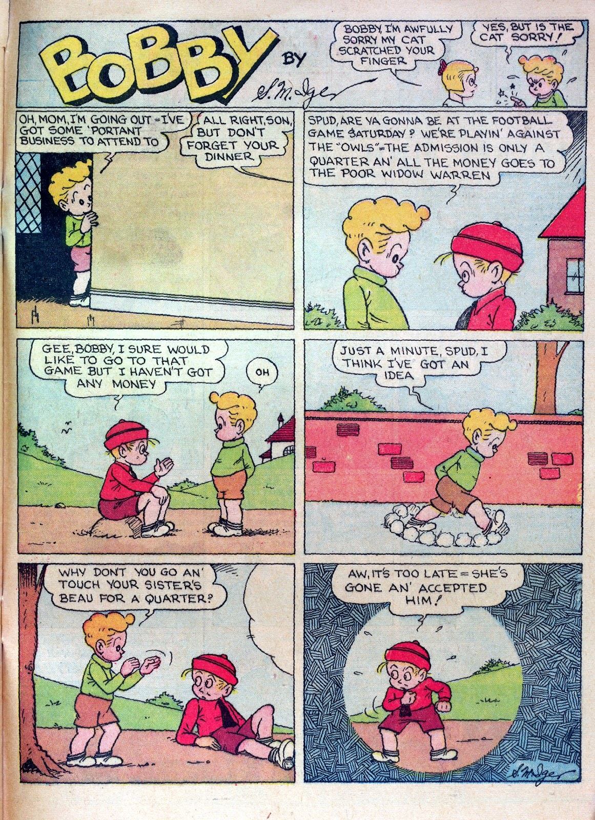 Read online Famous Funnies comic -  Issue #30 - 65