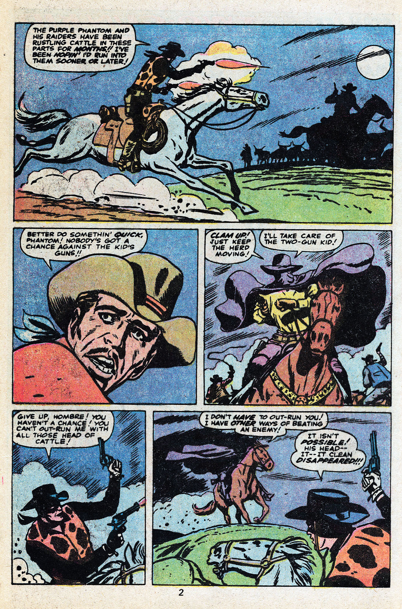 Read online Two-Gun Kid comic -  Issue #136 - 4
