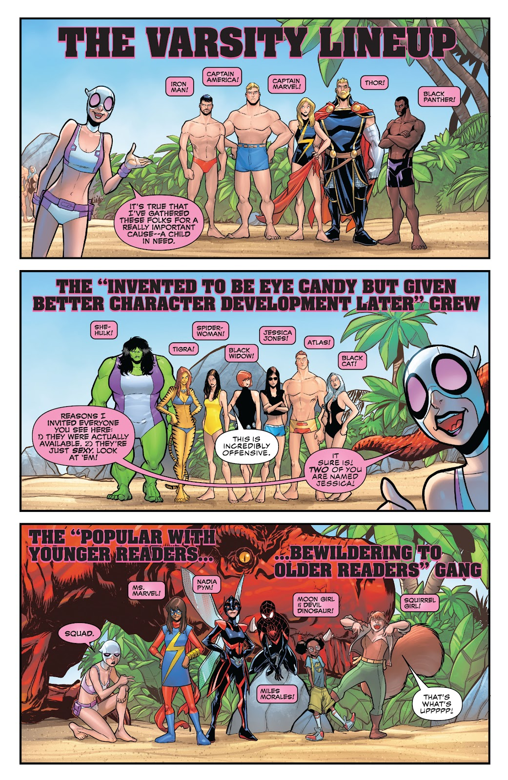 Gwenpool Strikes Back issue _TPB - Page 56