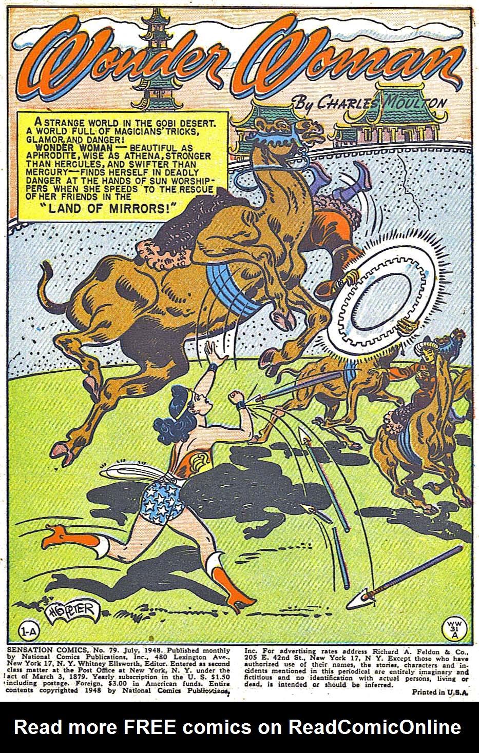 Read online Sensation (Mystery) Comics comic -  Issue #79 - 3