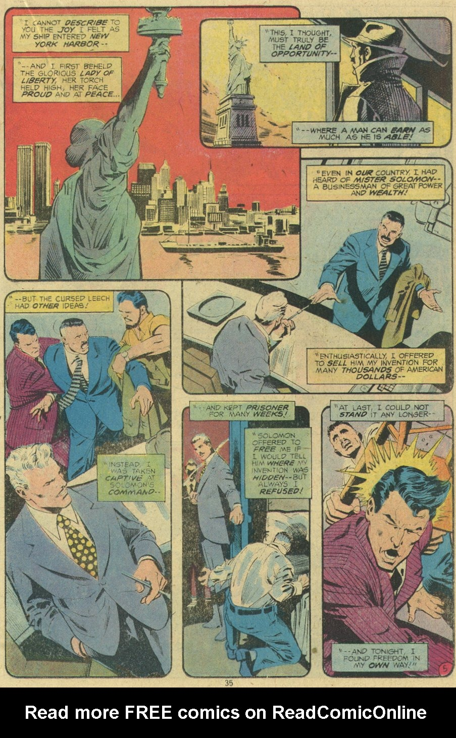 Read online Adventure Comics (1938) comic -  Issue #462 - 35