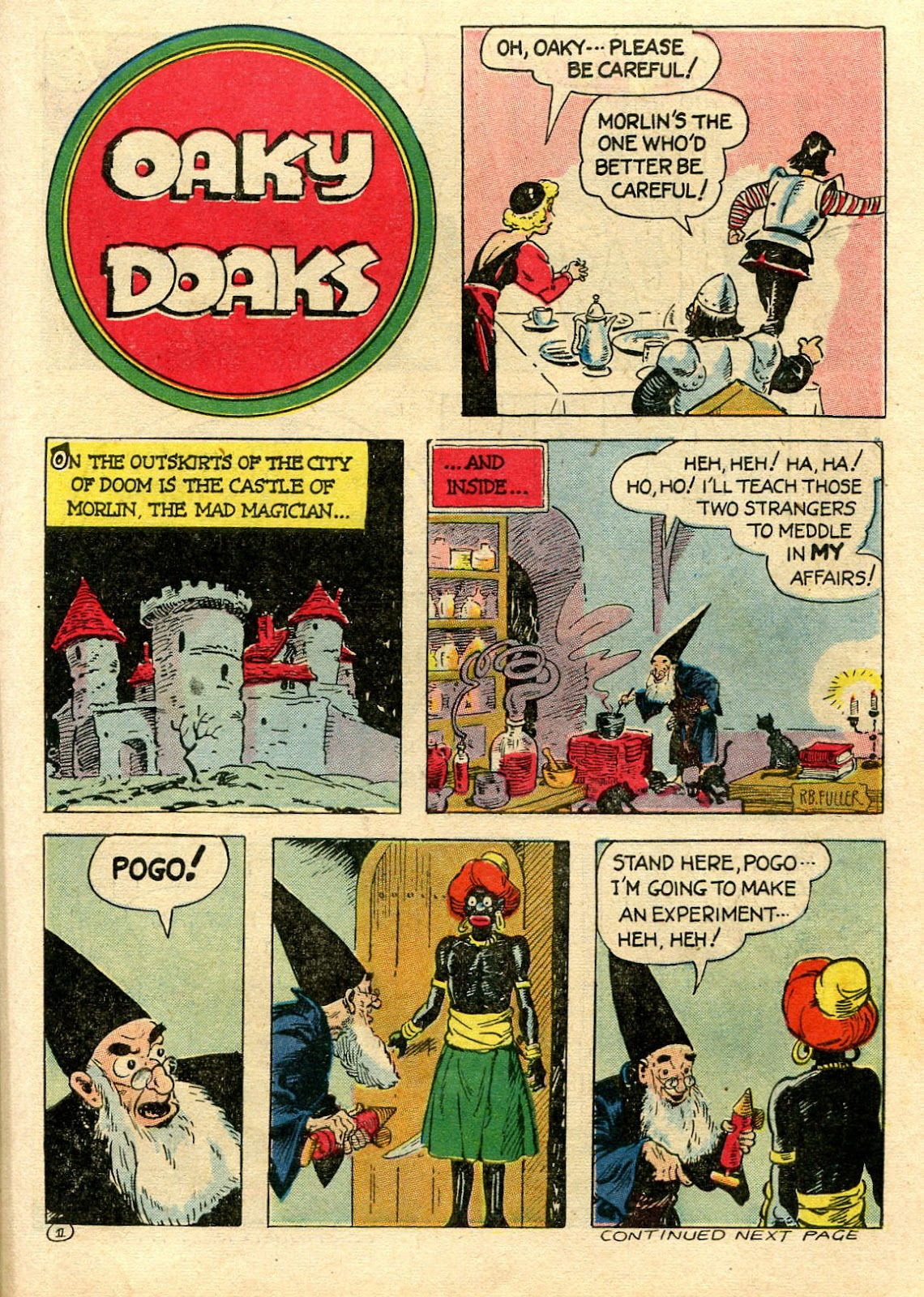 Read online Famous Funnies comic -  Issue #106 - 43