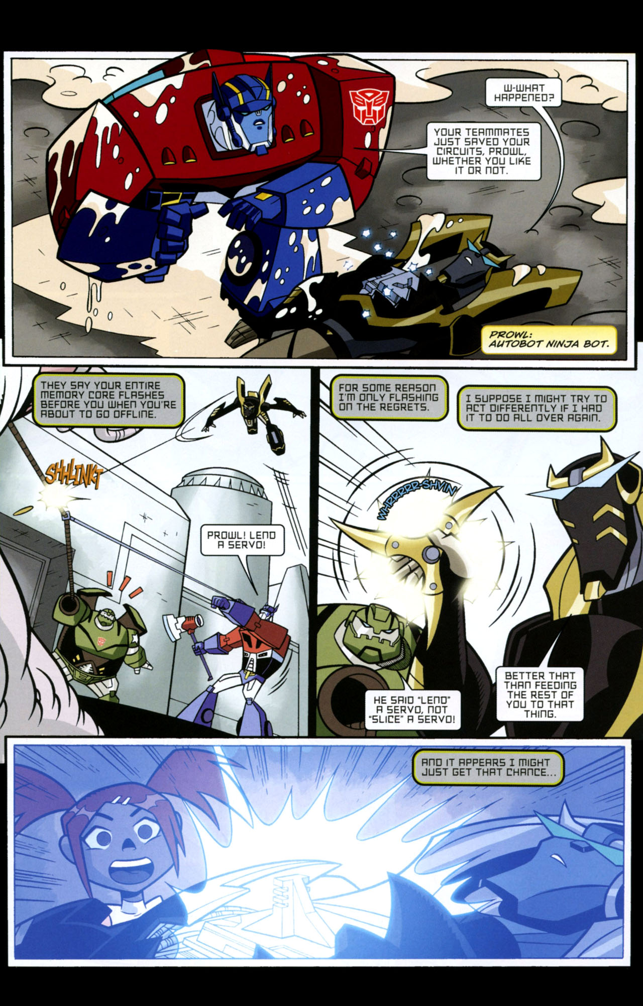 Read online Transformers Animated: The Arrival comic -  Issue #1 - 17