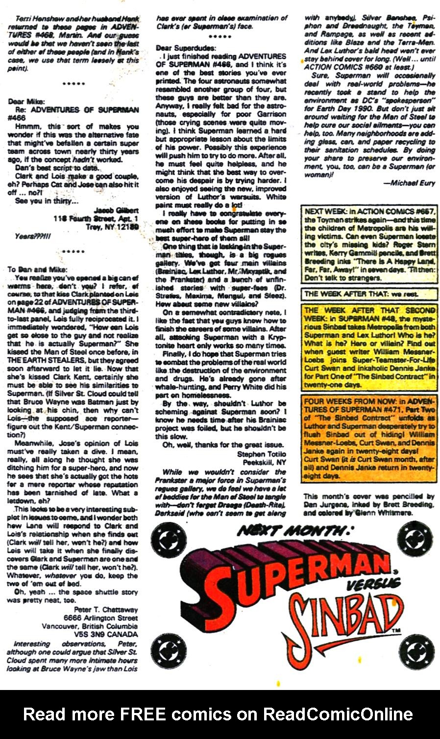 Read online Adventures of Superman (1987) comic -  Issue #470 - 25