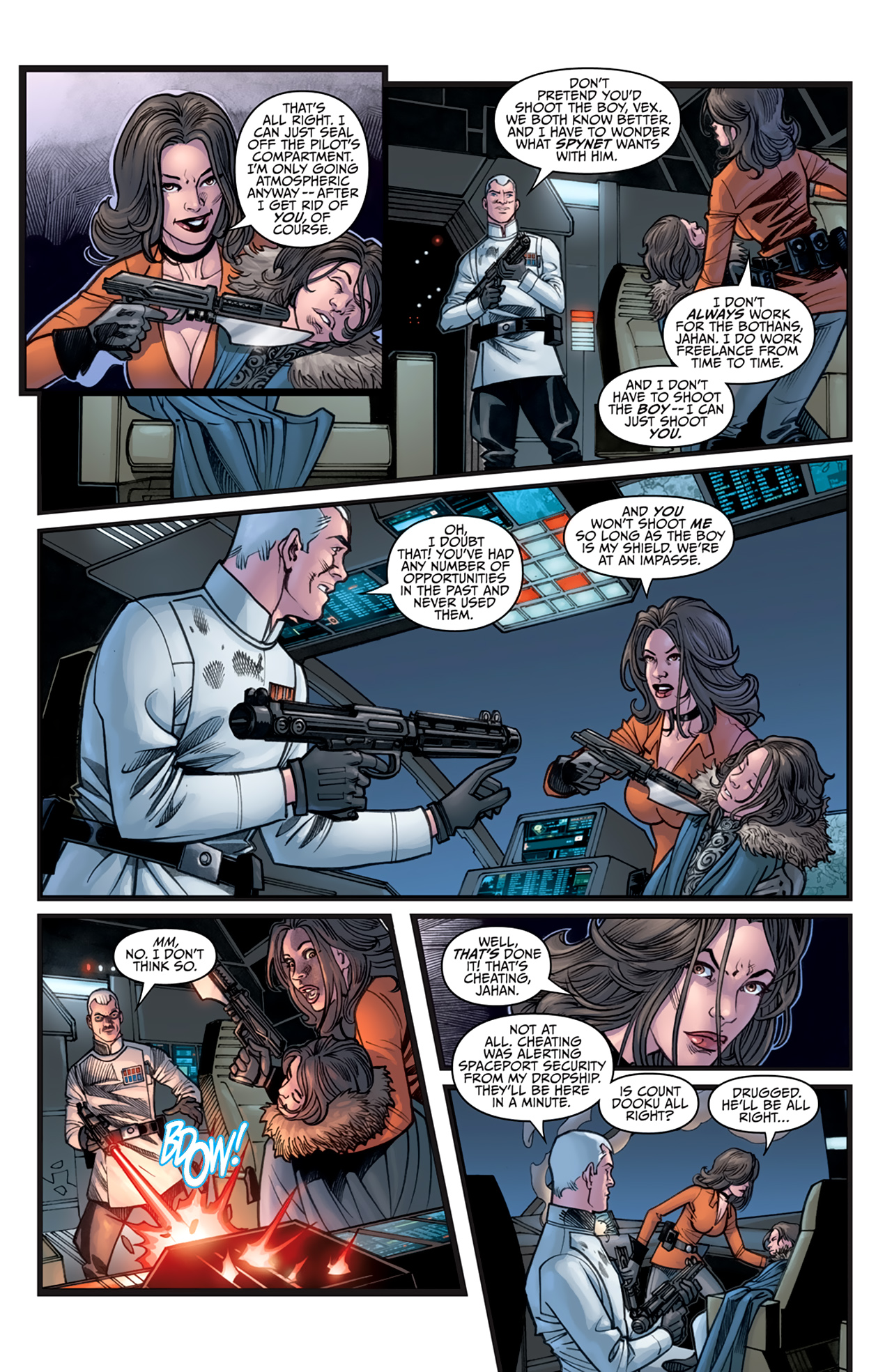 Read online Star Wars: Agent Of The Empire - Hard Targets comic -  Issue #3 - 7