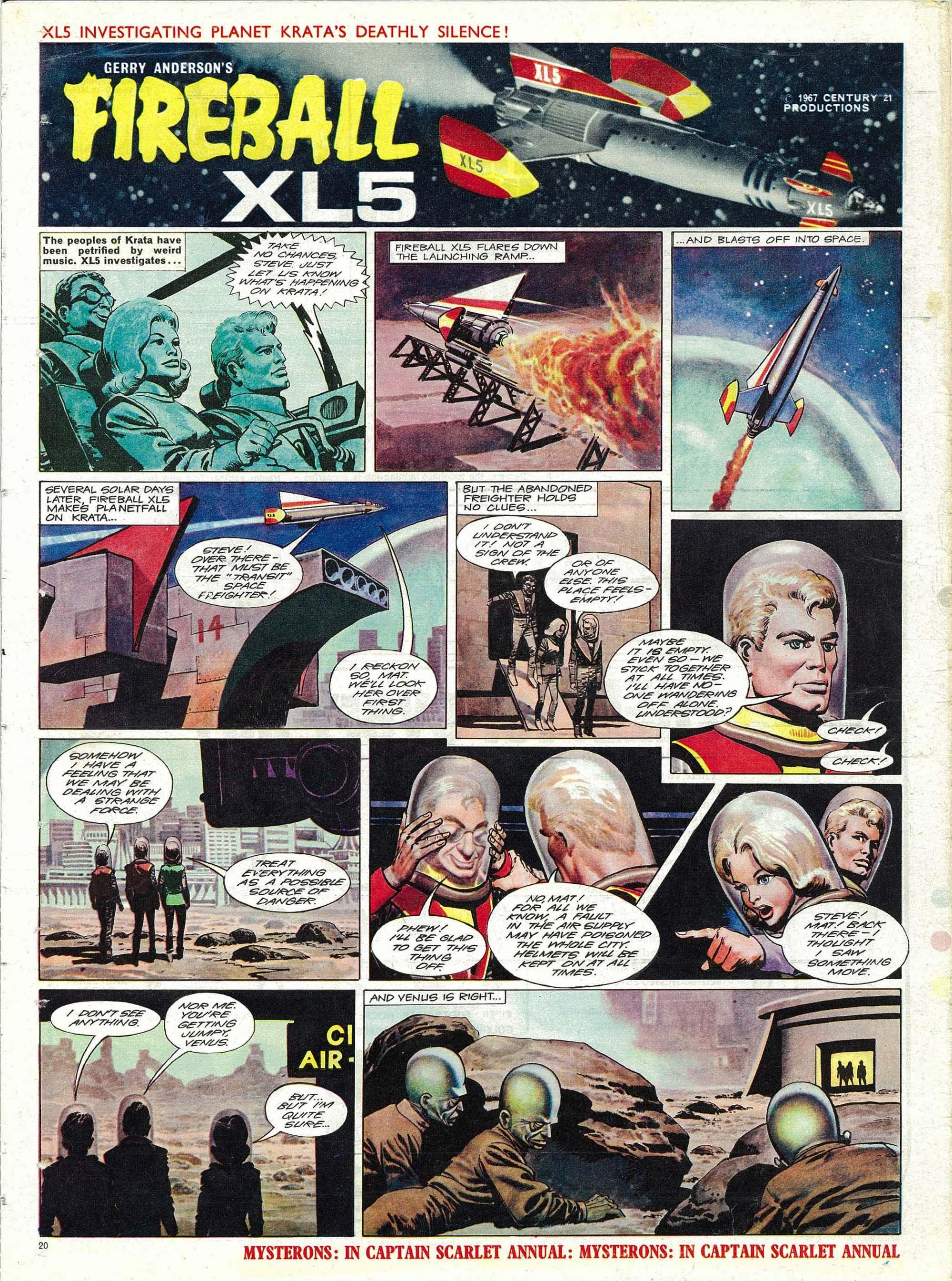 Read online TV Century 21 (TV 21) comic -  Issue #138 - 19