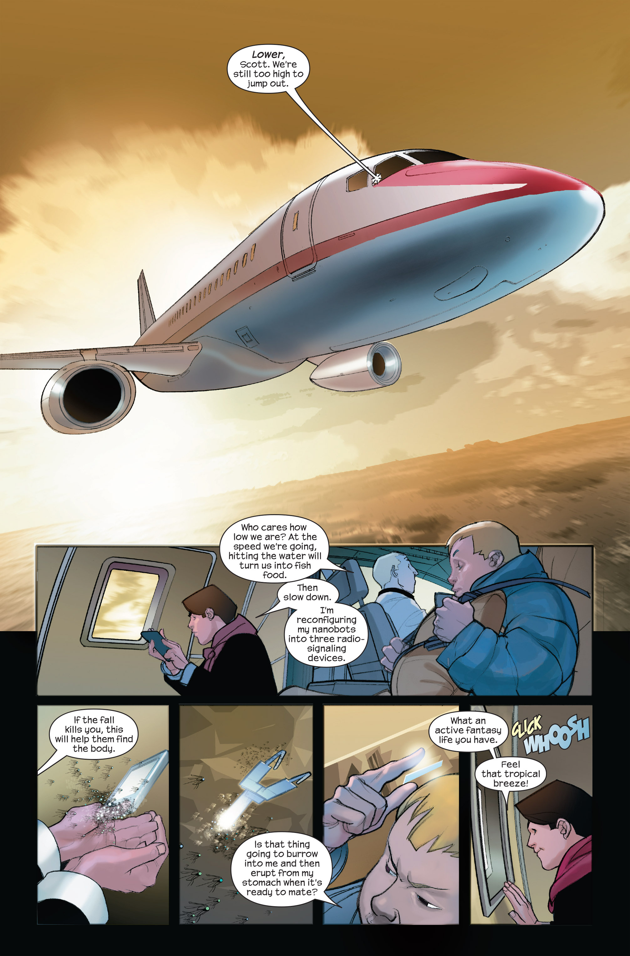 Read online Ultimate Iron Man II comic -  Issue #4 - 12