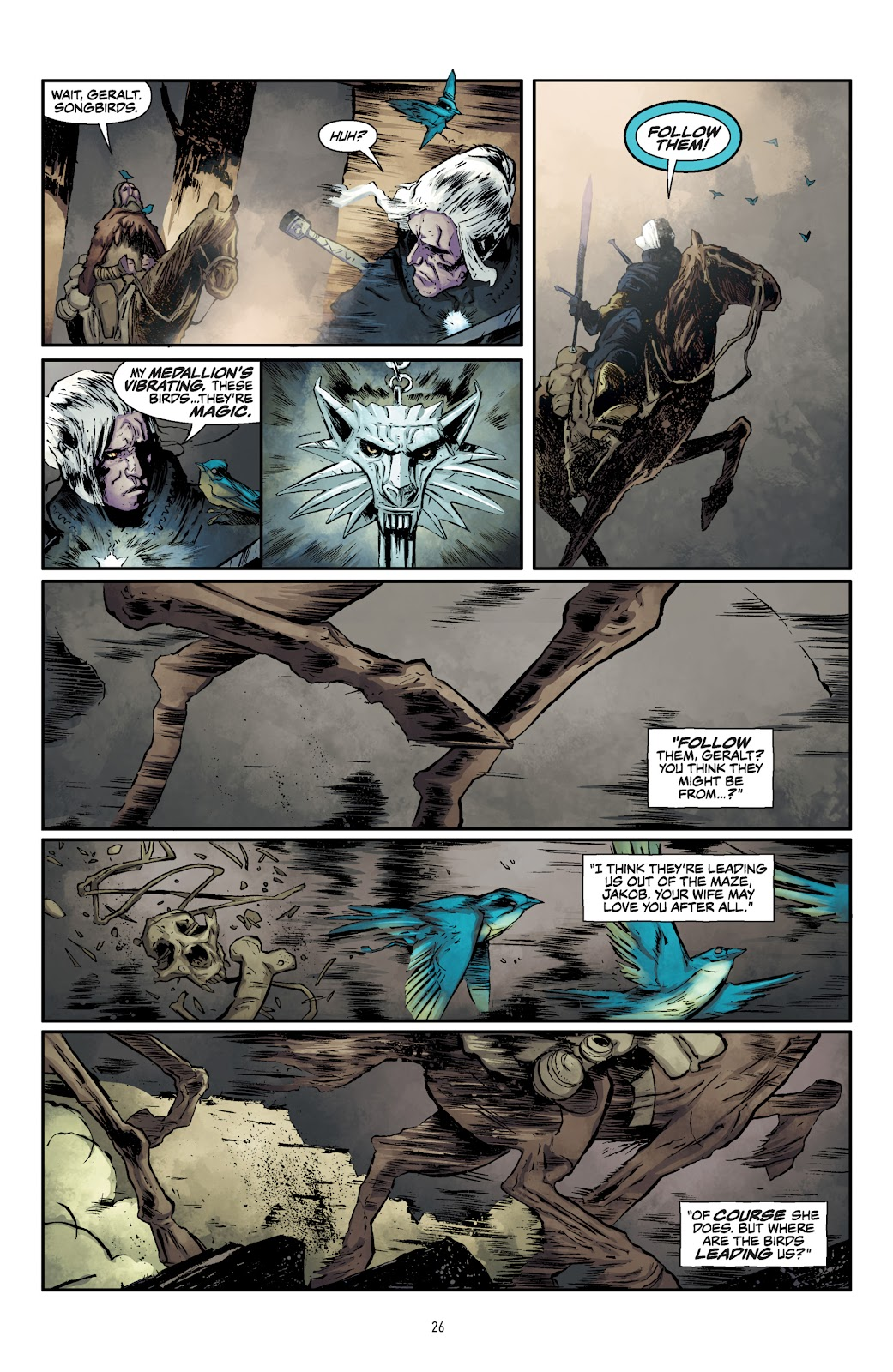 Read online The Witcher Omnibus comic -  Issue # TPB (Part 1) - 27