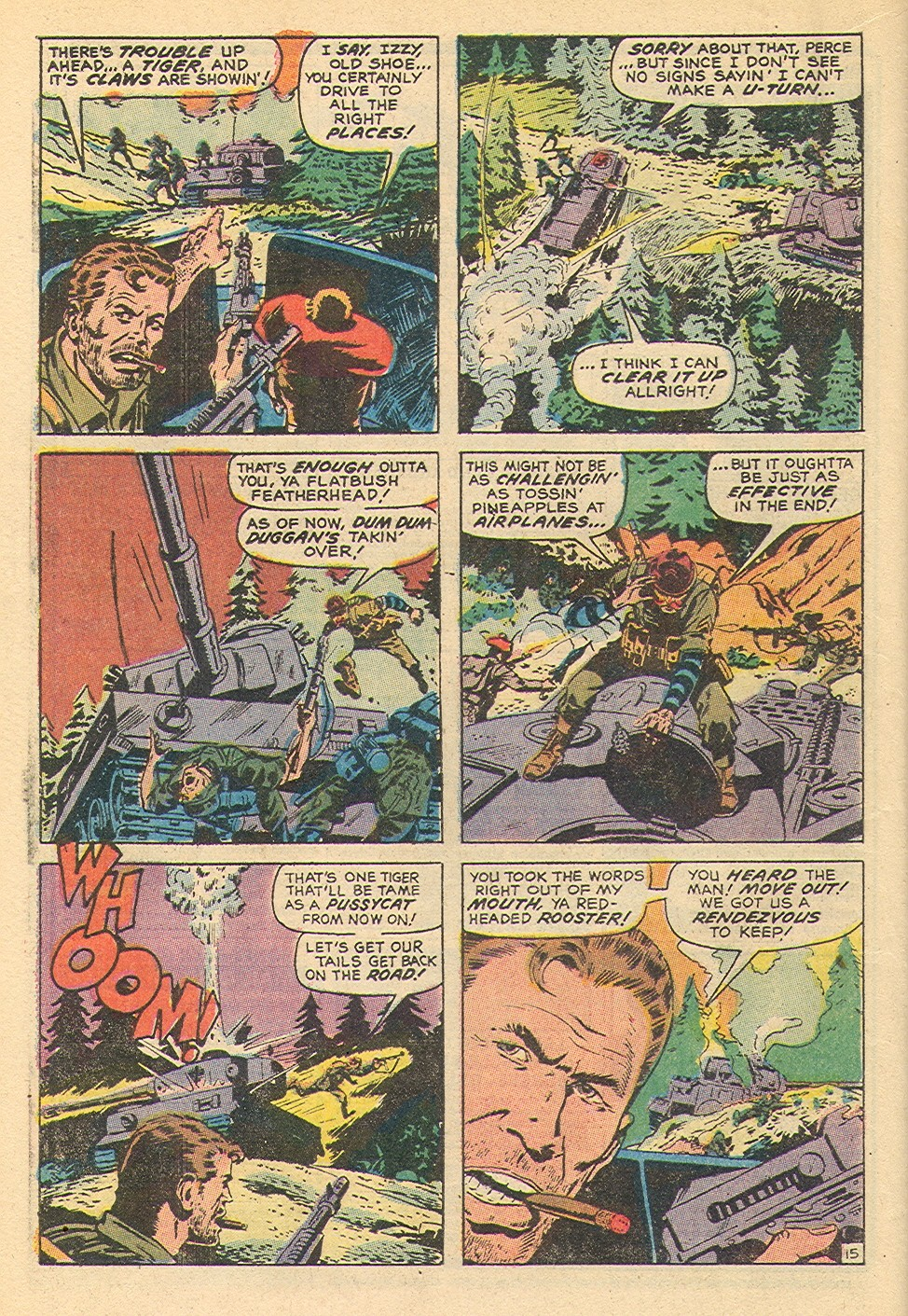 Read online Sgt. Fury comic -  Issue #92 - 20