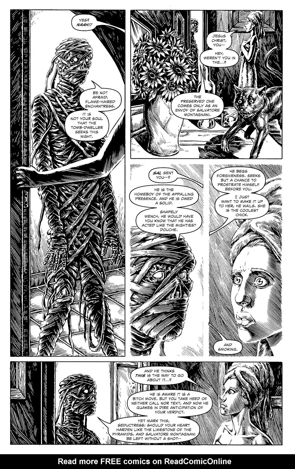 Read online Alan Moore's Cinema Purgatorio comic -  Issue #17 - 21