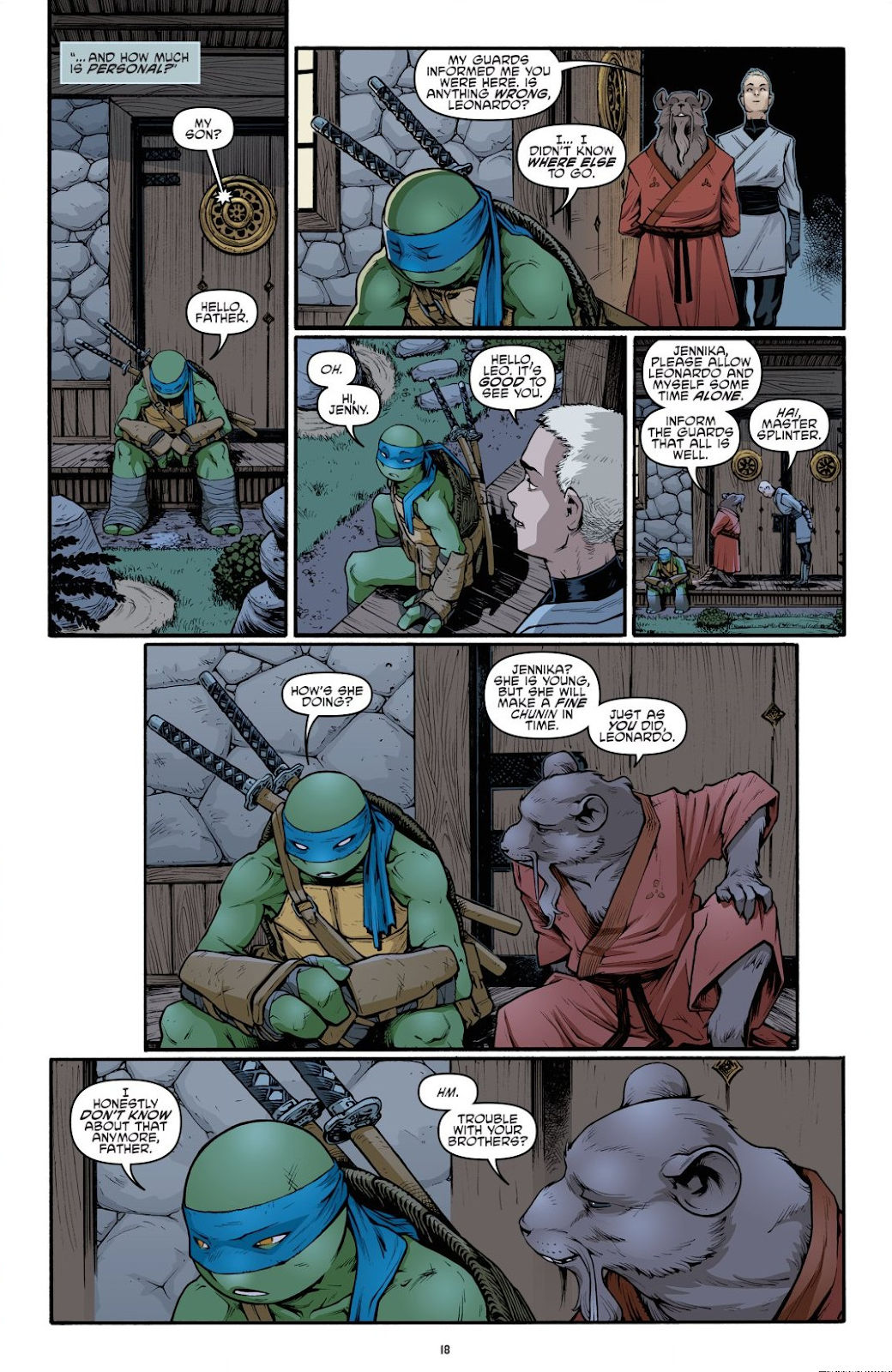 Read online Teenage Mutant Ninja Turtles: The IDW Collection comic -  Issue # TPB 9 (Part 1) - 19