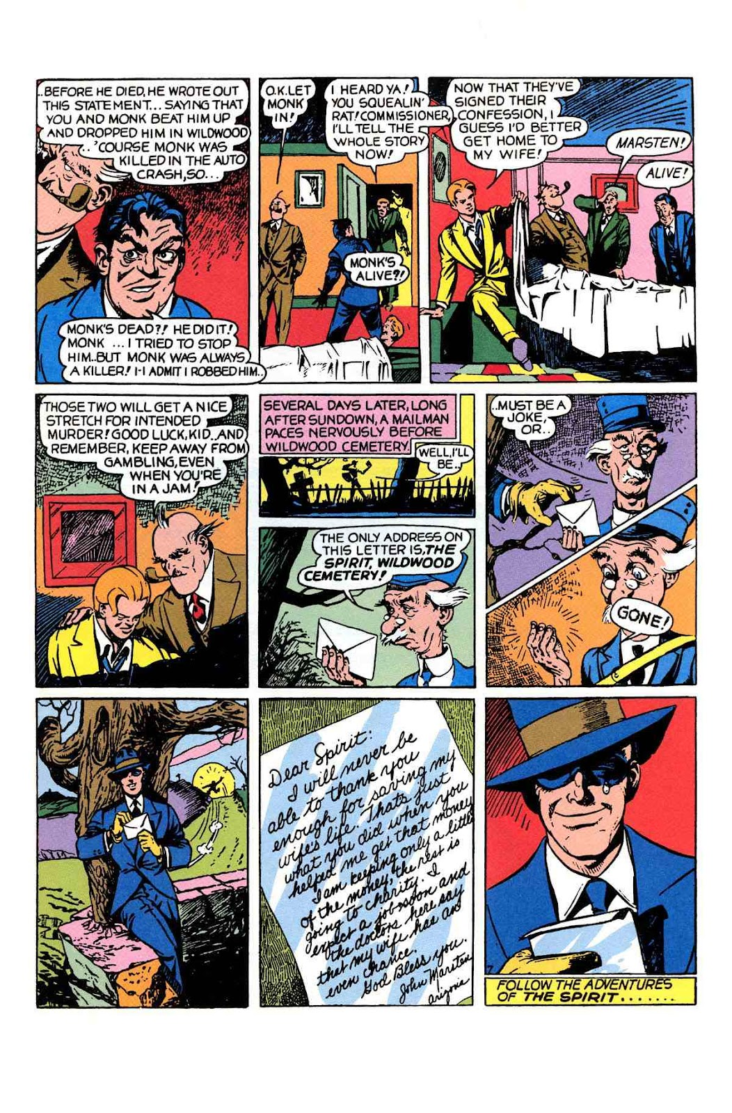 Read online Will Eisner's The Spirit Archives comic -  Issue # TPB 1 (Part 1) - 36
