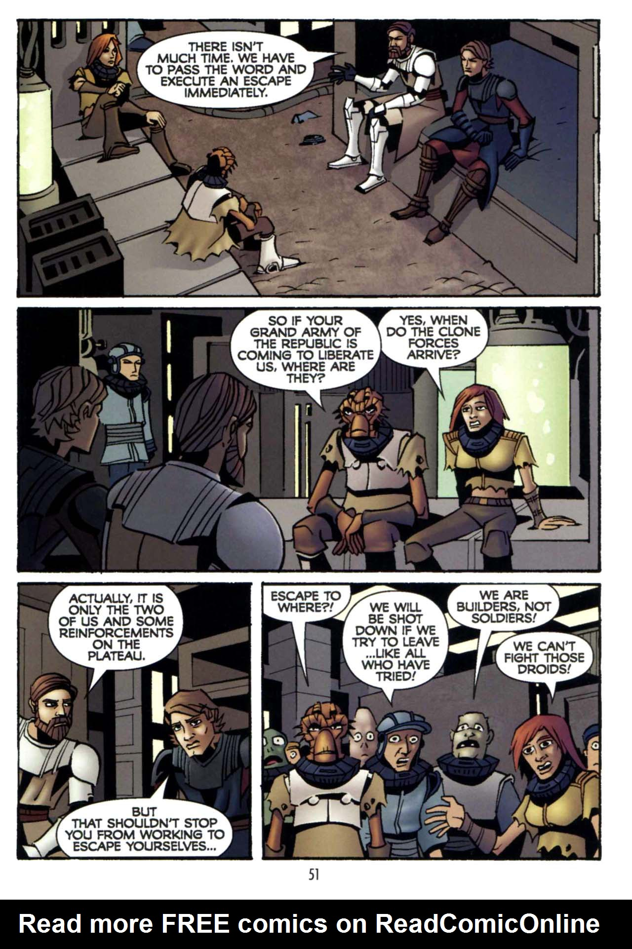 Read online Star Wars: The Clone Wars - Shipyards of Doom comic -  Issue # Full - 49