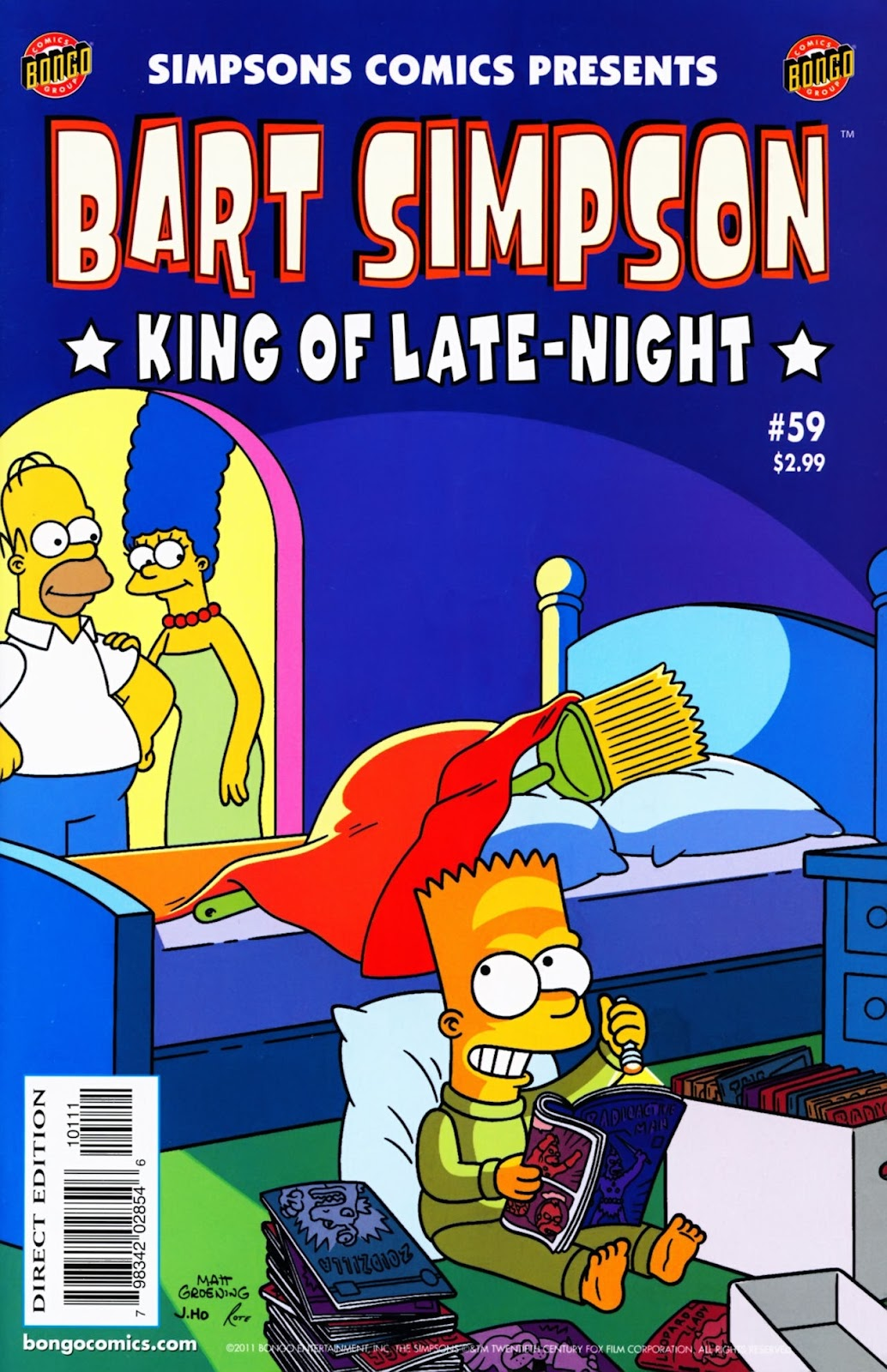 Simpsons Comics Presents Bart Simpson 59 Page 1