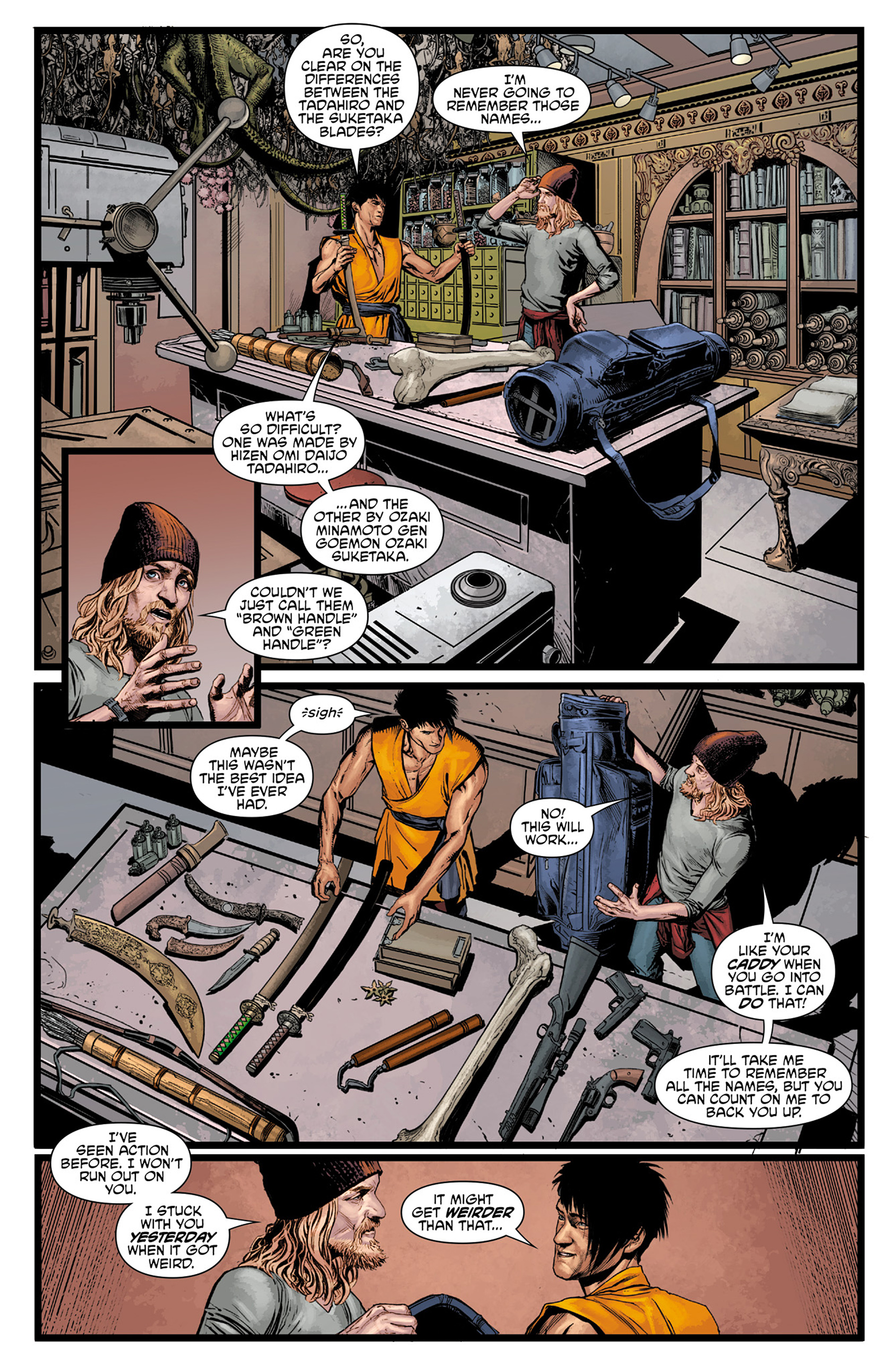 Read online King Tiger comic -  Issue #1 - 9