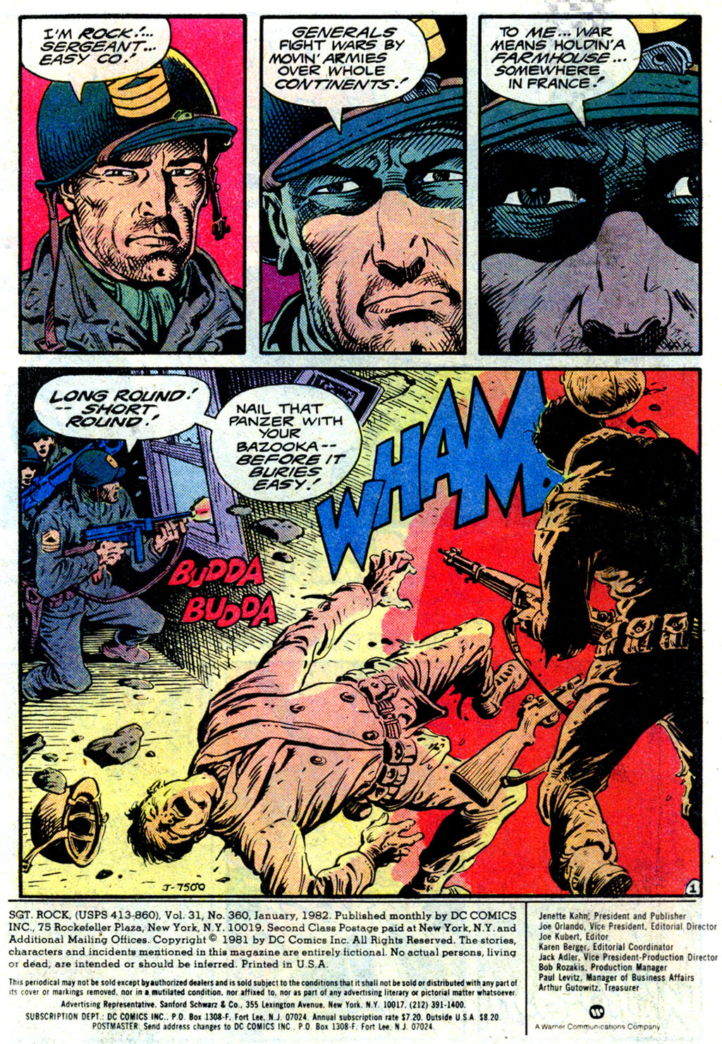 Sgt. Rock issue 360 - Page 2