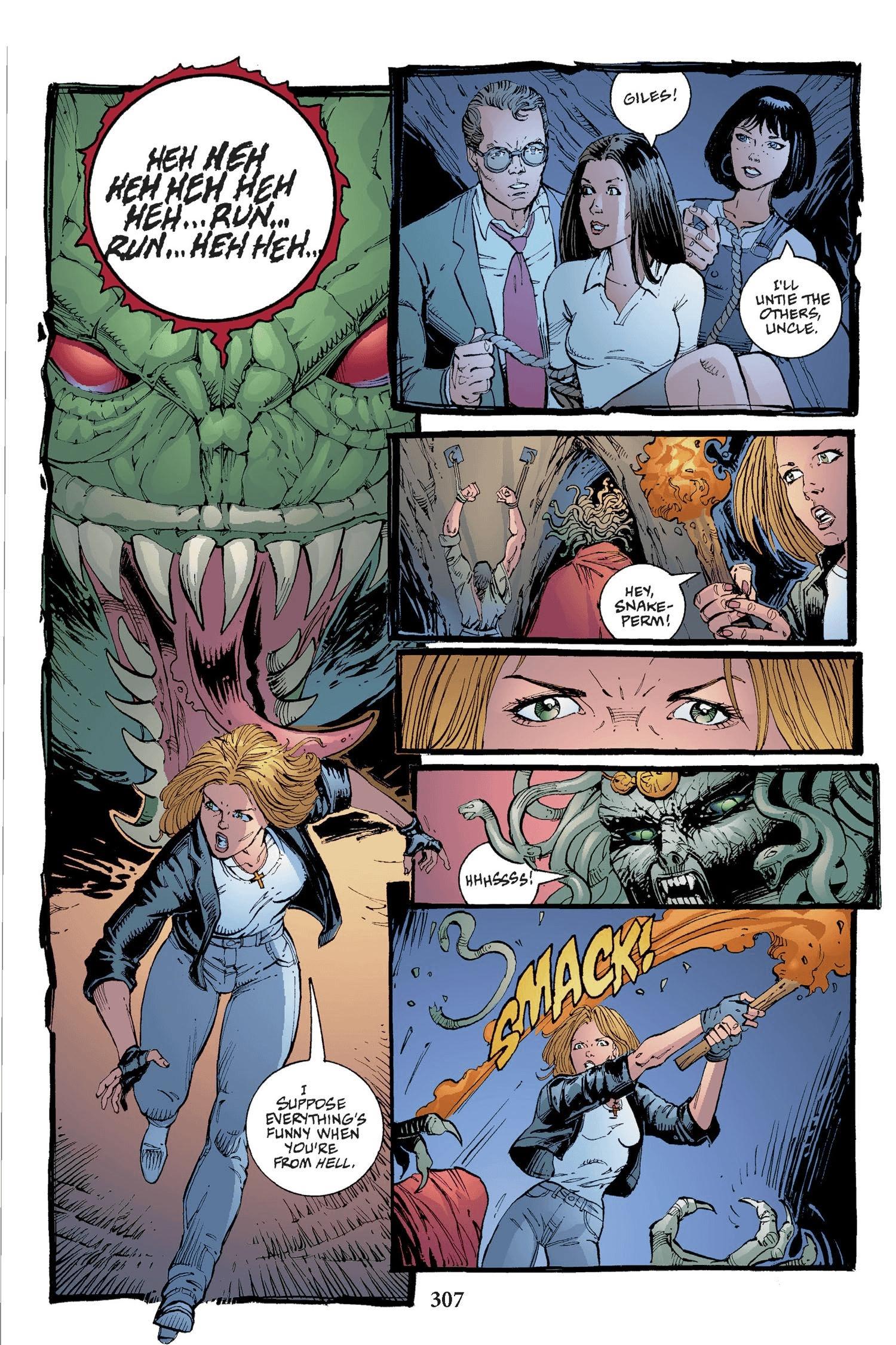 Read online Buffy the Vampire Slayer: Omnibus comic -  Issue # TPB 2 - 299