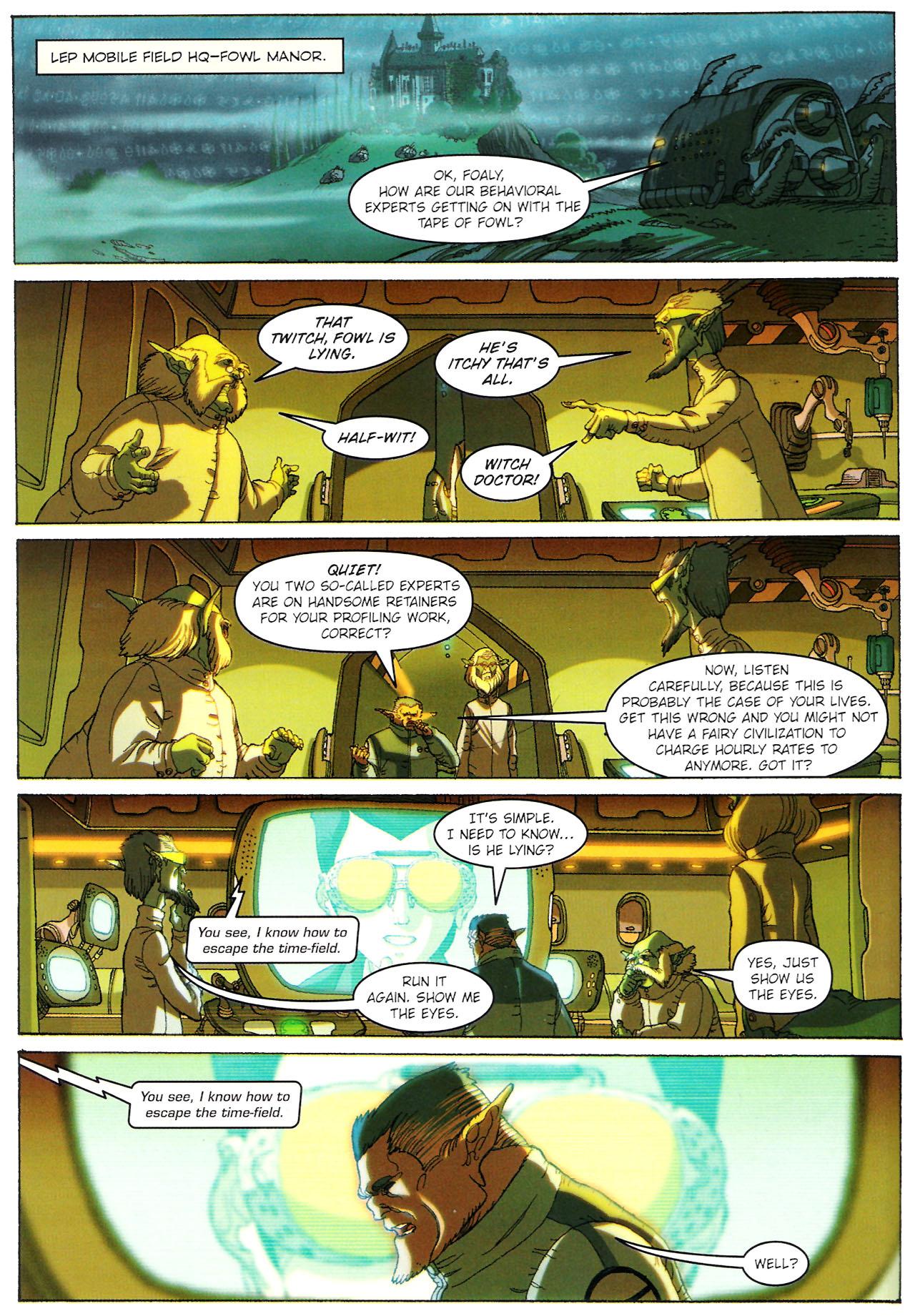 Read online Artemis Fowl: The Graphic Novel comic -  Issue #Artemis Fowl: The Graphic Novel Full - 71