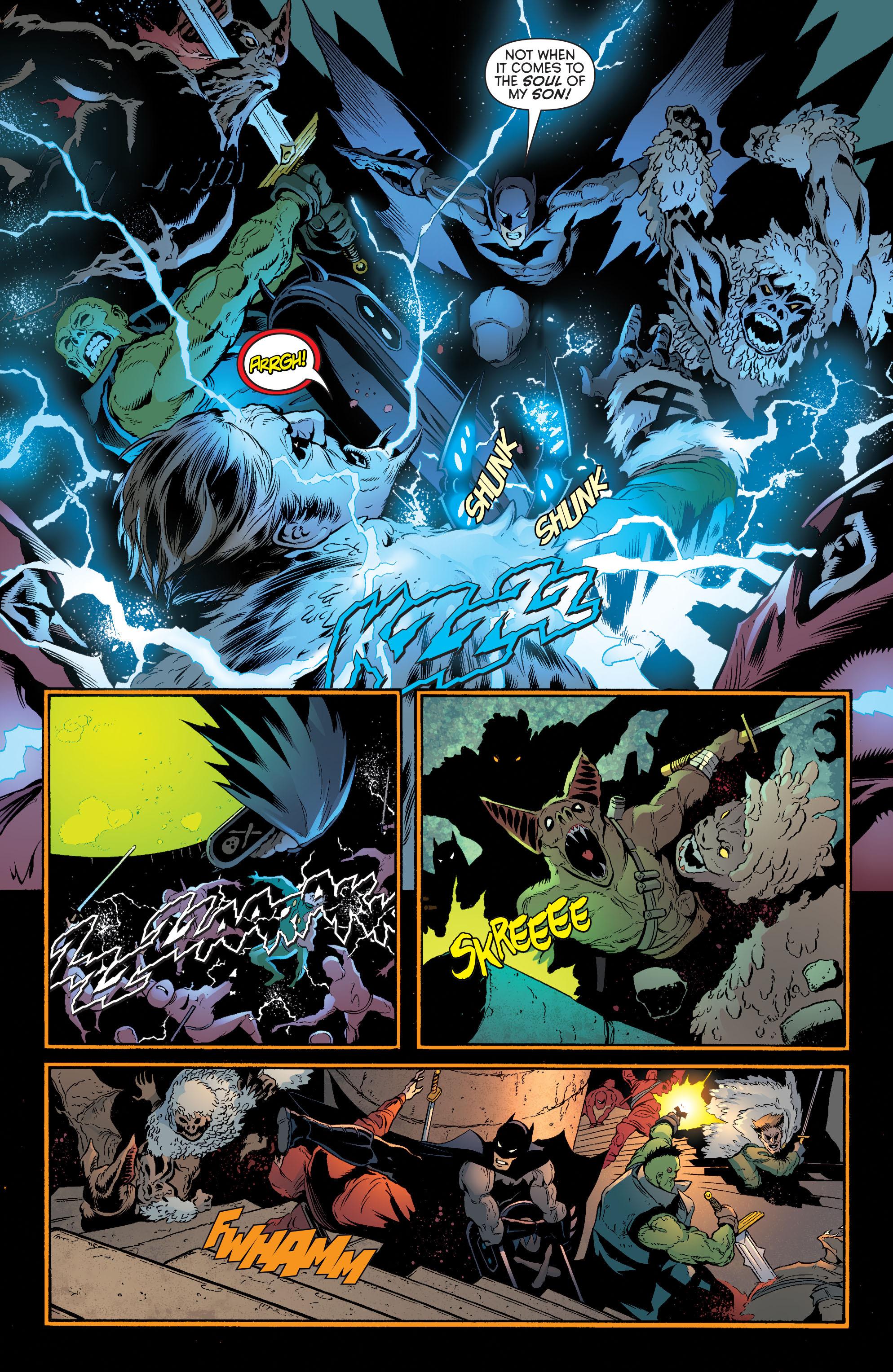 Read online Batman and Robin (2011) comic -  Issue #32 - Batman and Ra's al Ghul - 8
