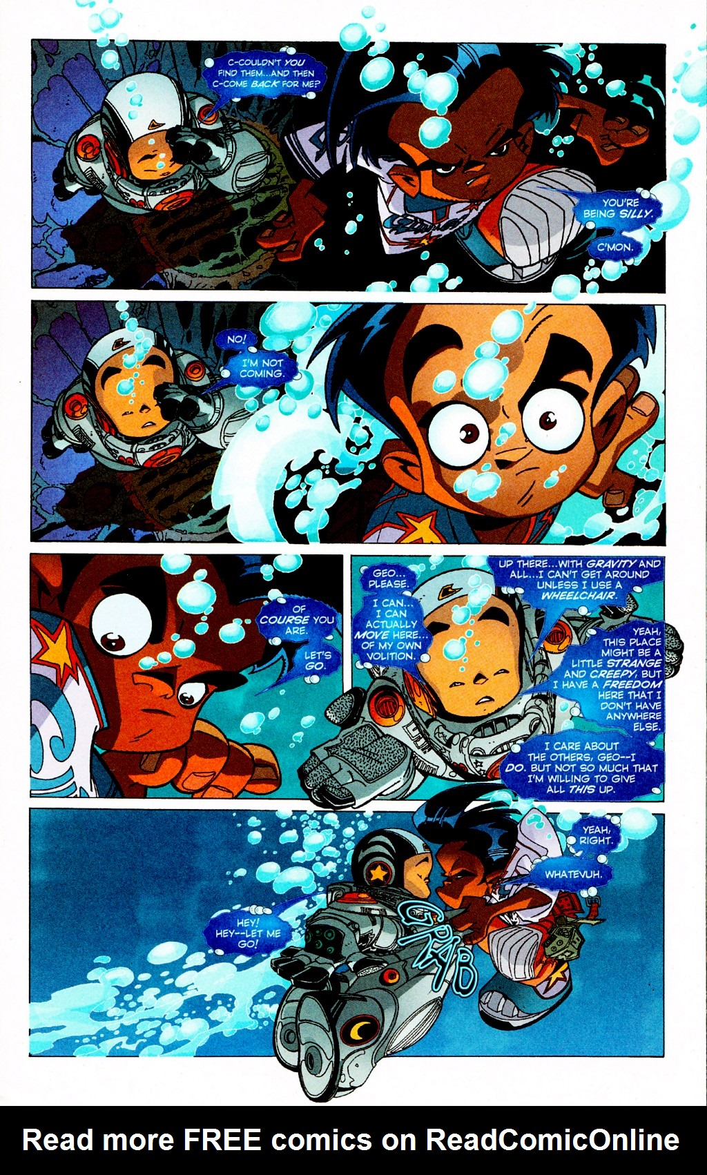 Read online Monster World (Existed) comic -  Issue #3 - 8