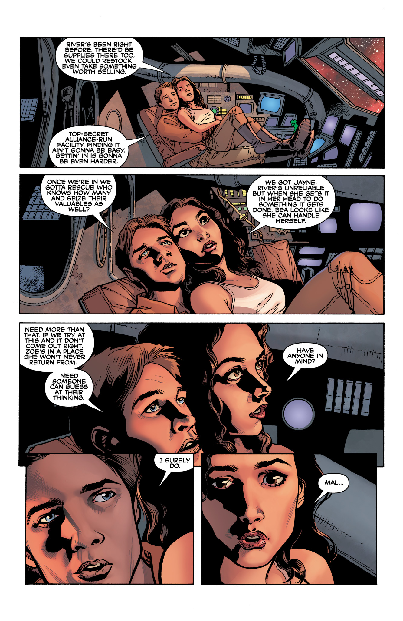 Read online Serenity: Firefly Class 03-K64  Leaves on the Wind comic -  Issue #3 - 20