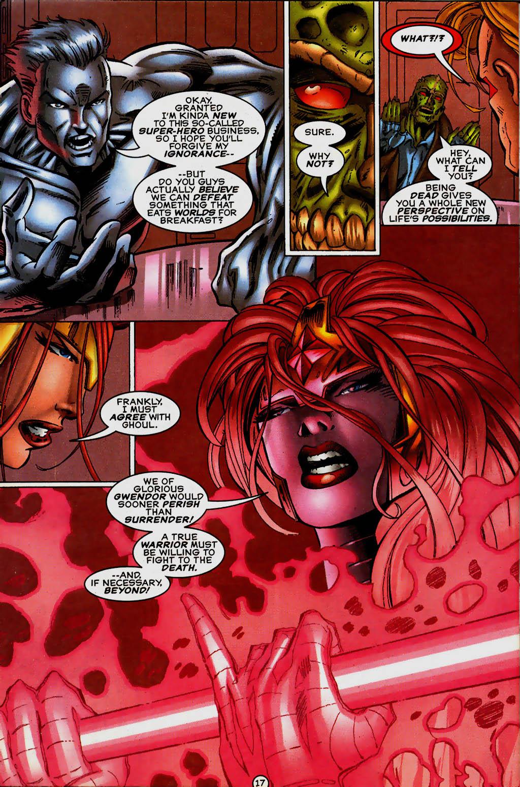 Read online UltraForce (1995) comic -  Issue #13 - 18