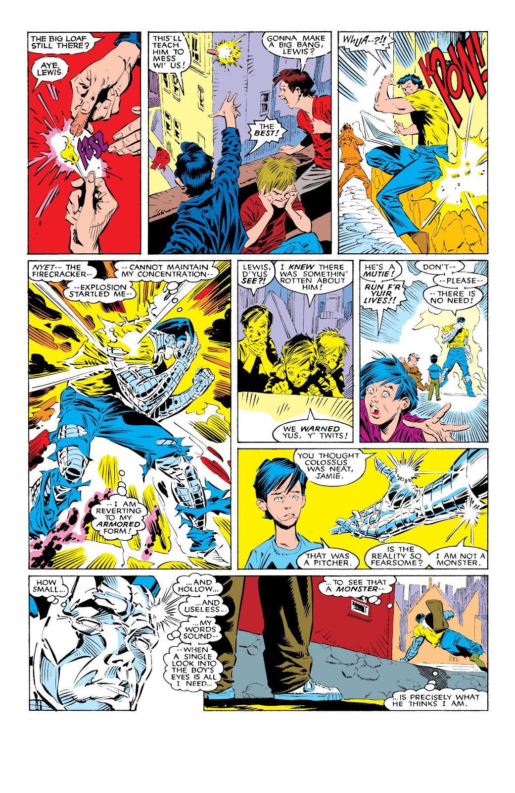 Read online X-Men Milestones: Fall of the Mutants comic -  Issue # TPB (Part 1) - 9