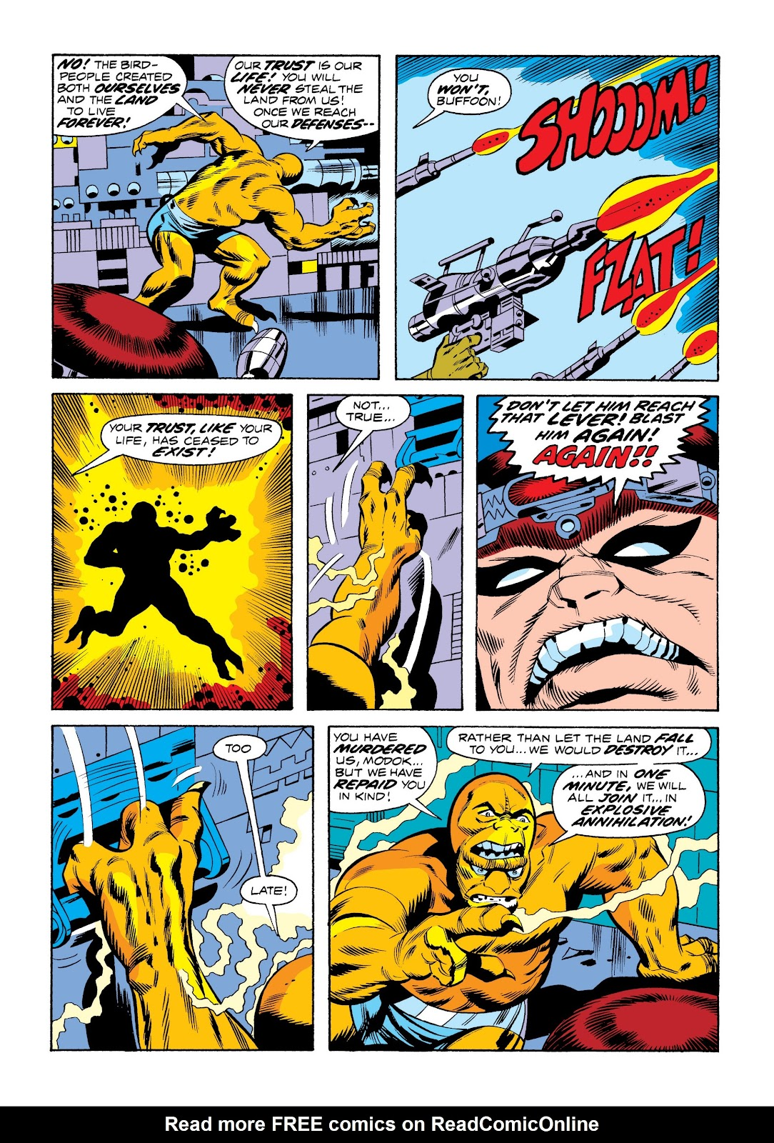 Read online Marvel Masterworks: The Incredible Hulk comic -  Issue # TPB 9 (Part 3) - 74
