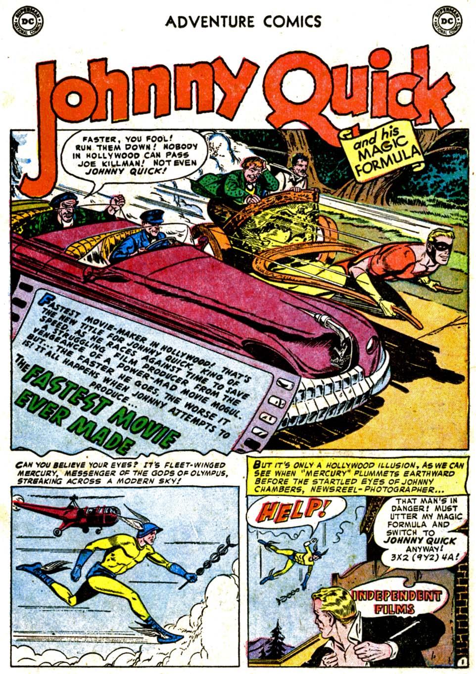 Read online Adventure Comics (1938) comic -  Issue #184 - 25
