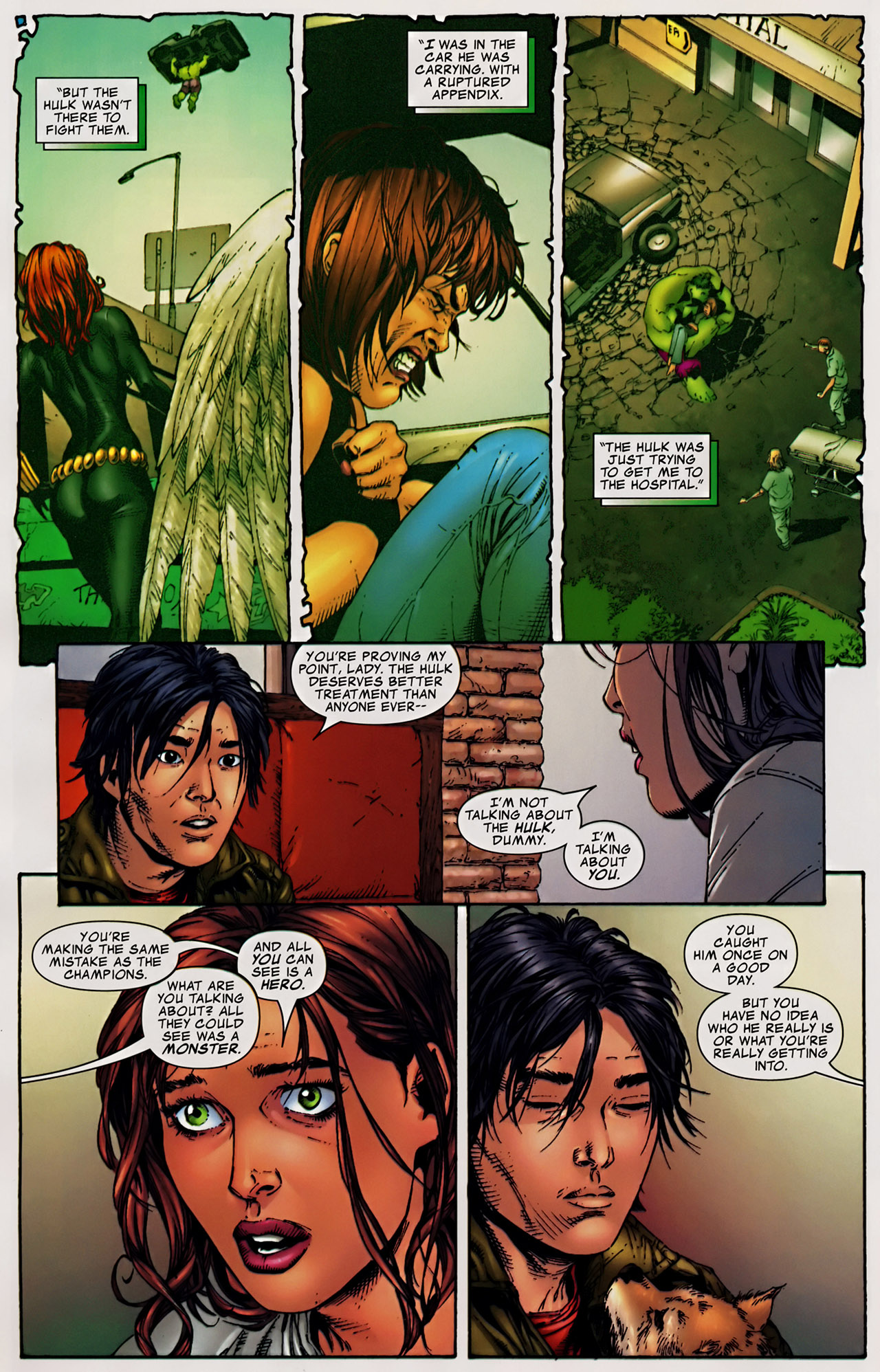 Read online The Incredible Hulk (2000) comic -  Issue #106 - 12