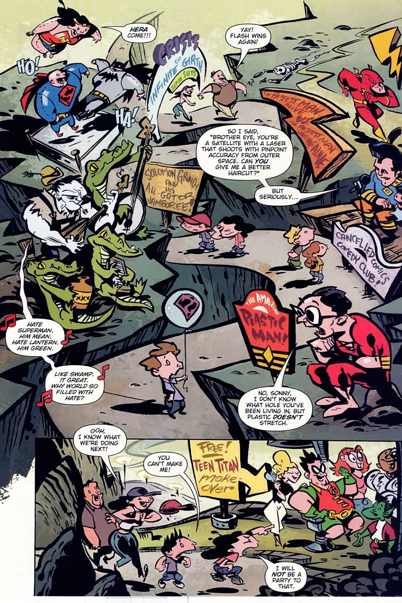 Read online Bizarro World comic -  Issue # TPB - 12