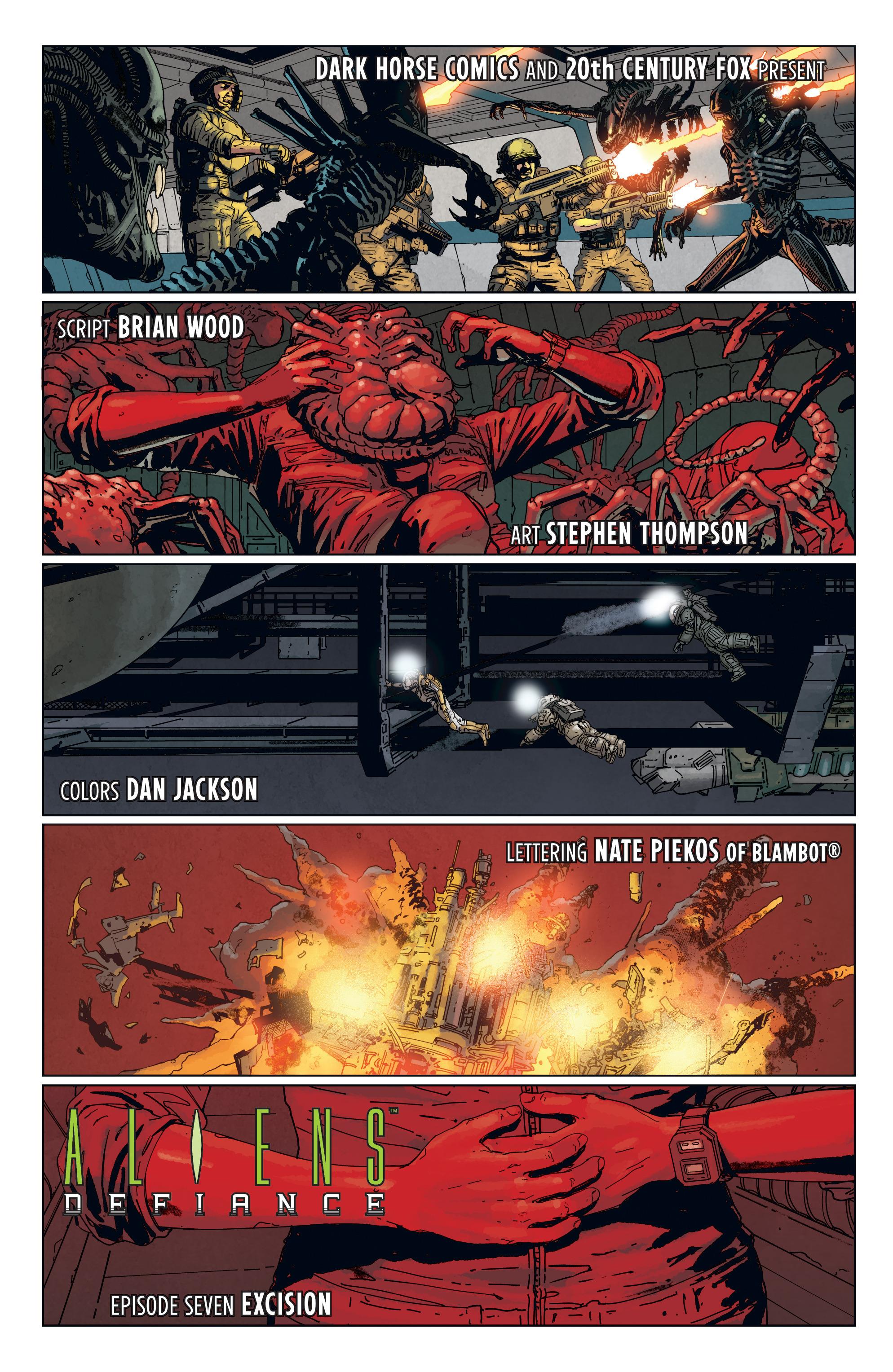 Read online Aliens: Defiance comic -  Issue #7 - 7