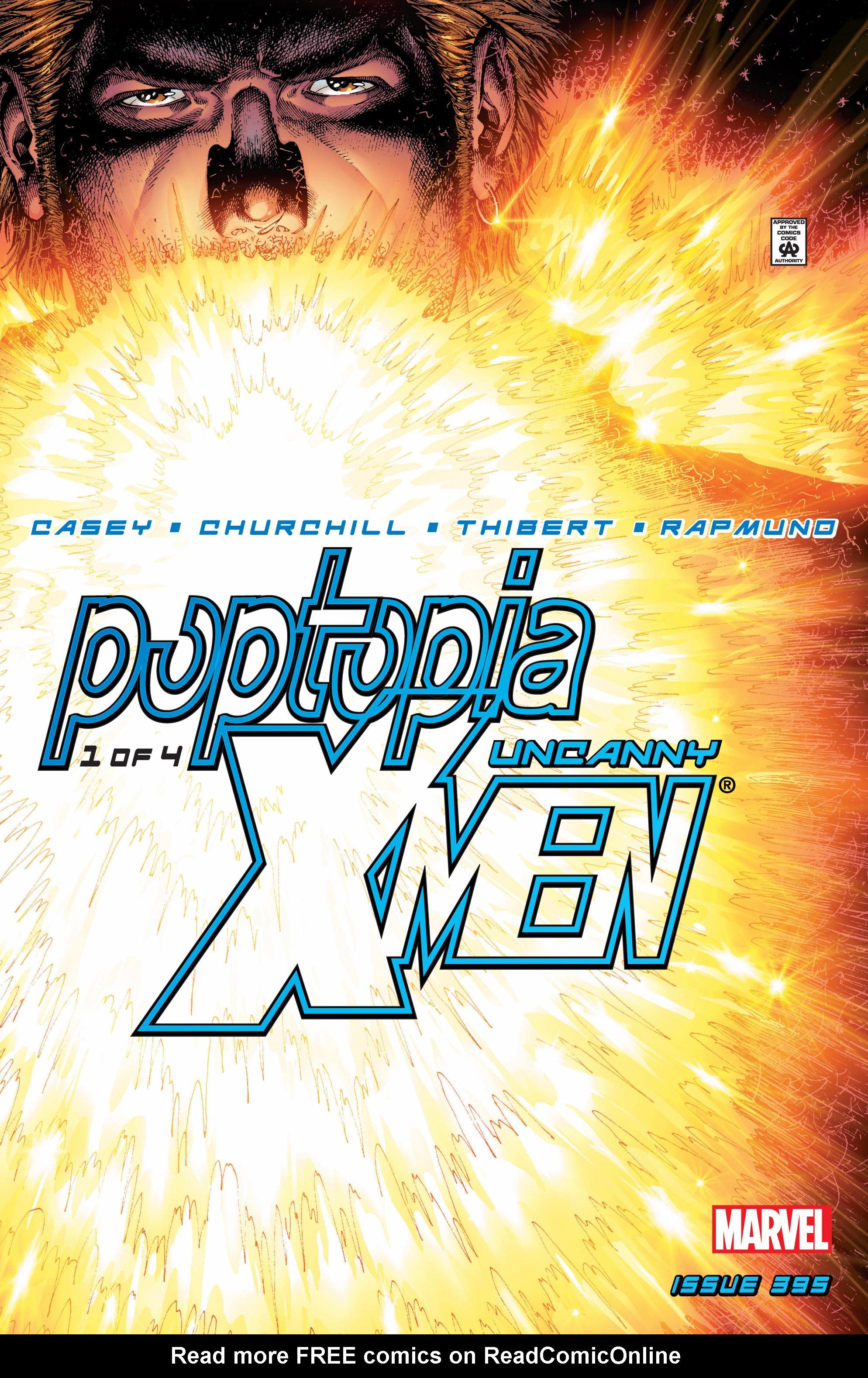 Uncanny X-Men (1963) 395 Page 1
