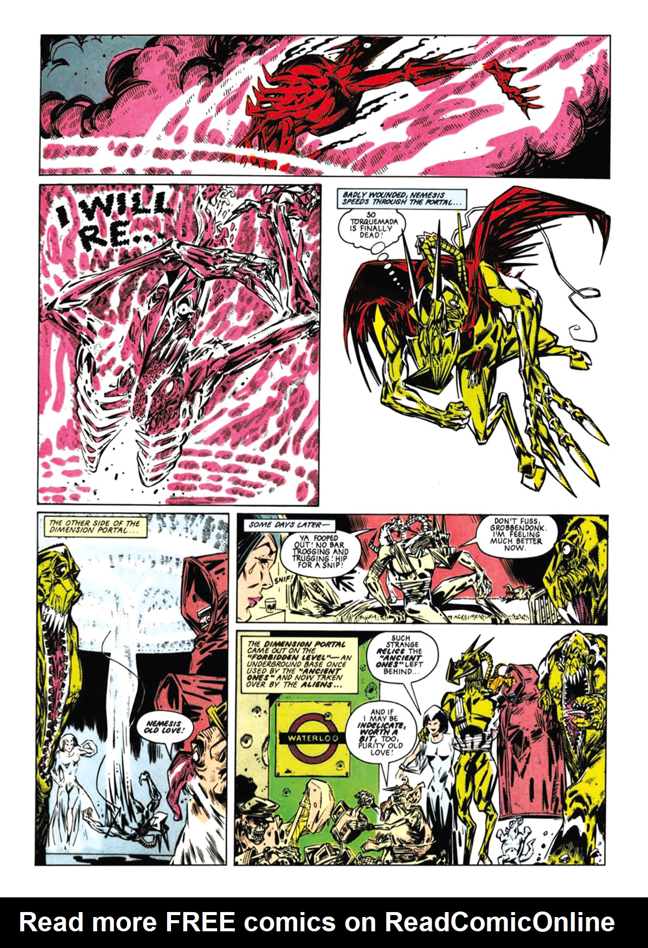 Read online Nemesis The Warlock comic -  Issue # TPB Deviant Edition - 93