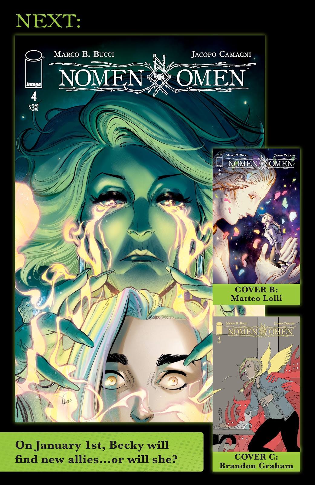 Read online Nomen Omen comic -  Issue #3 - 30