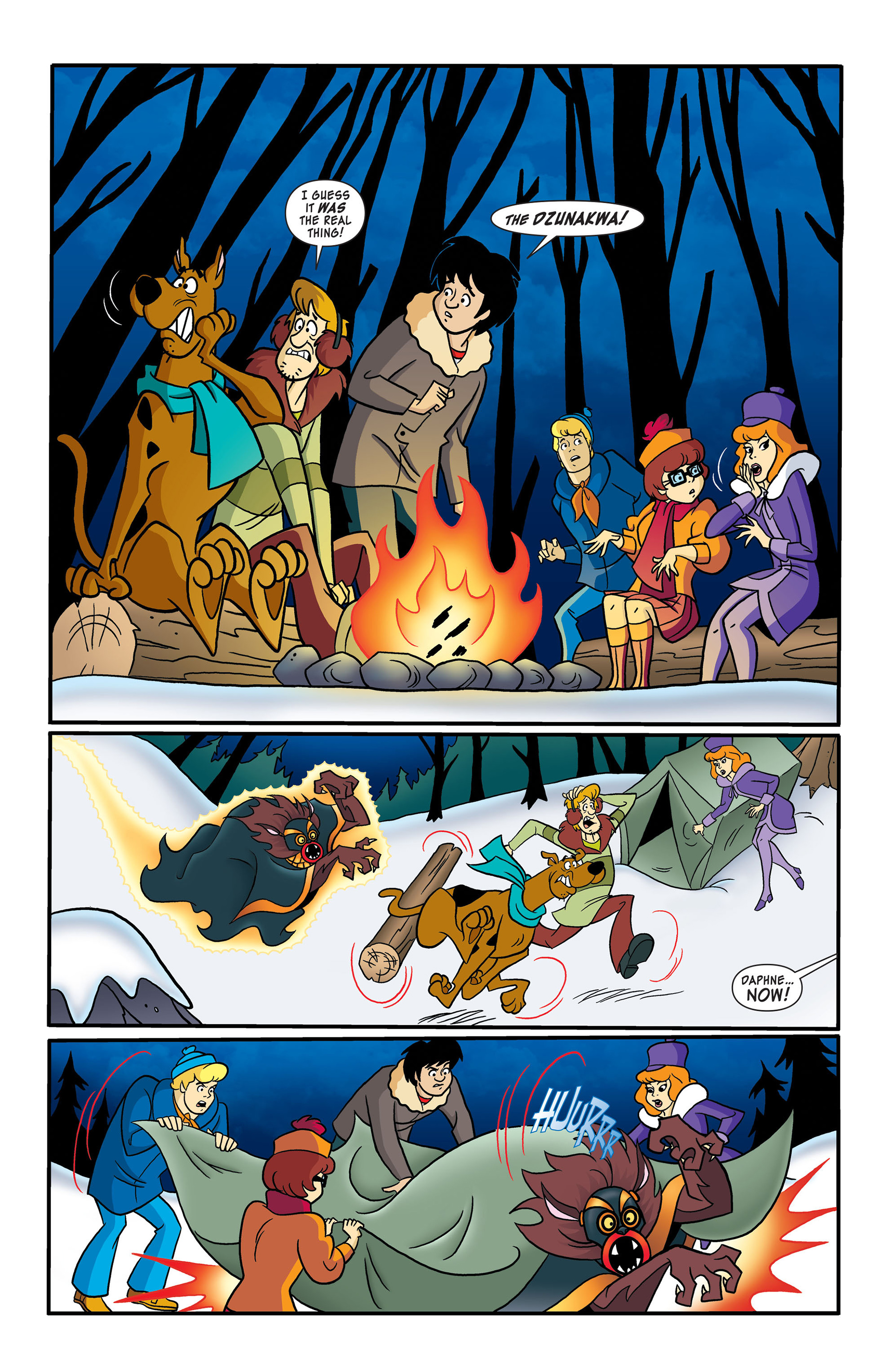 Read online Scooby-Doo: Where Are You? comic -  Issue #50 - 10