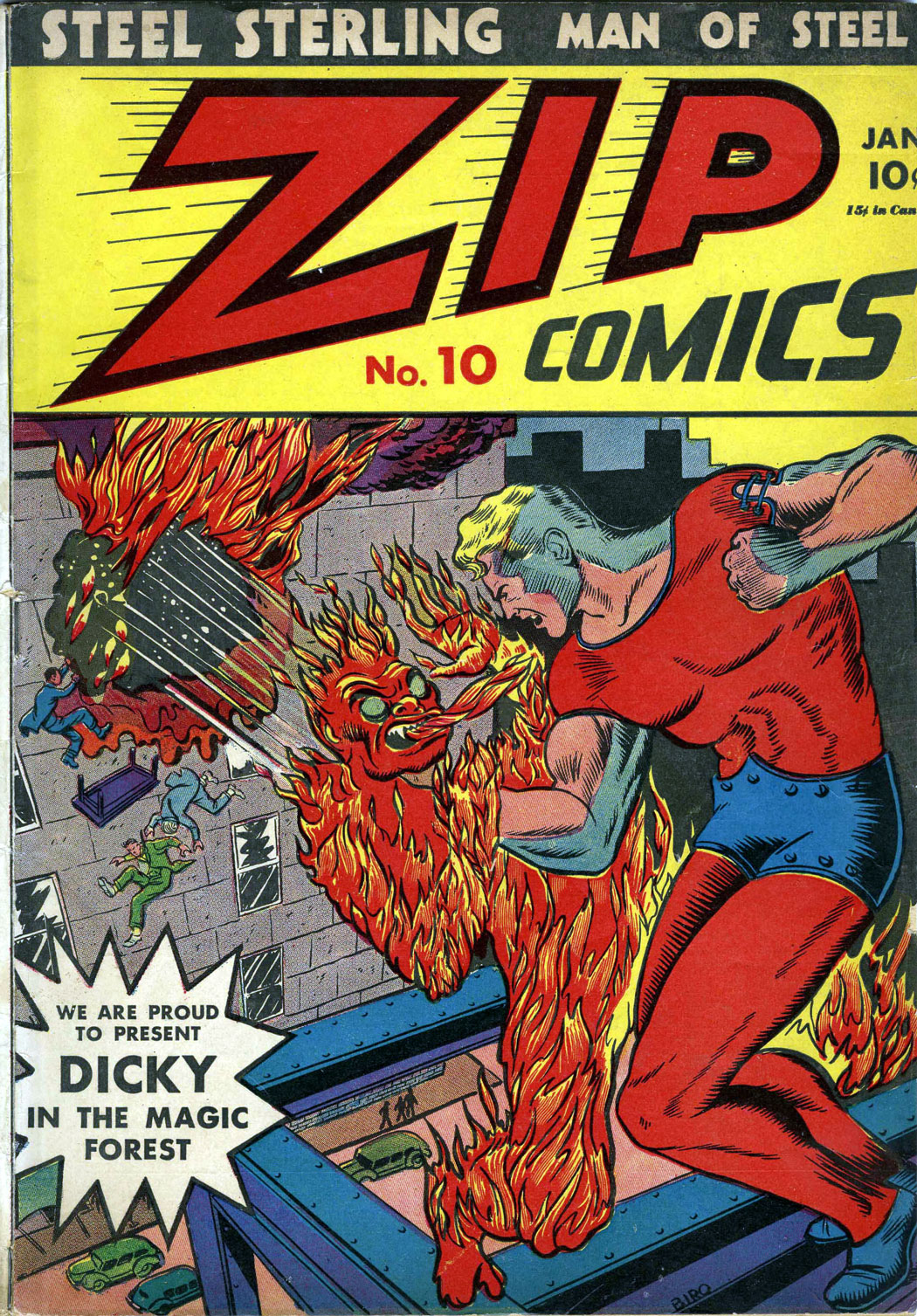Zip Comics issue 10 - Page 1