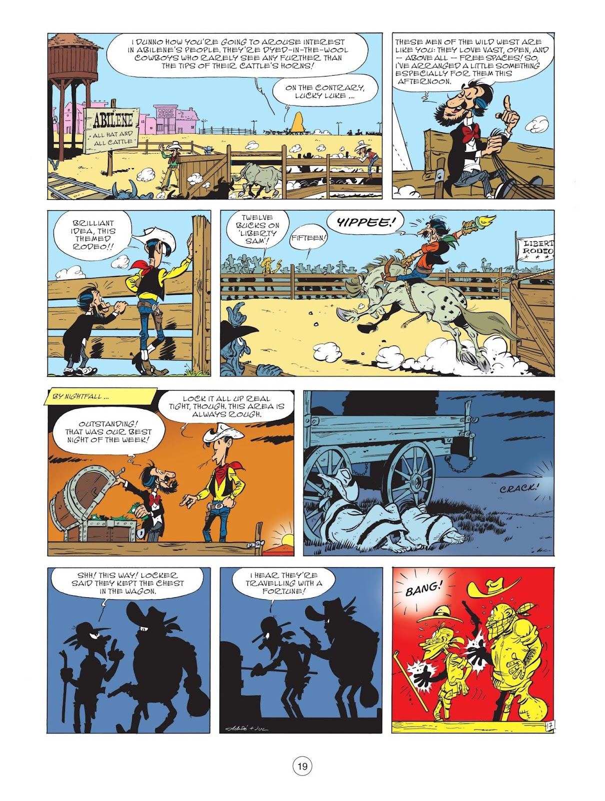 A Lucky Luke Adventure issue 71 - Page 21
