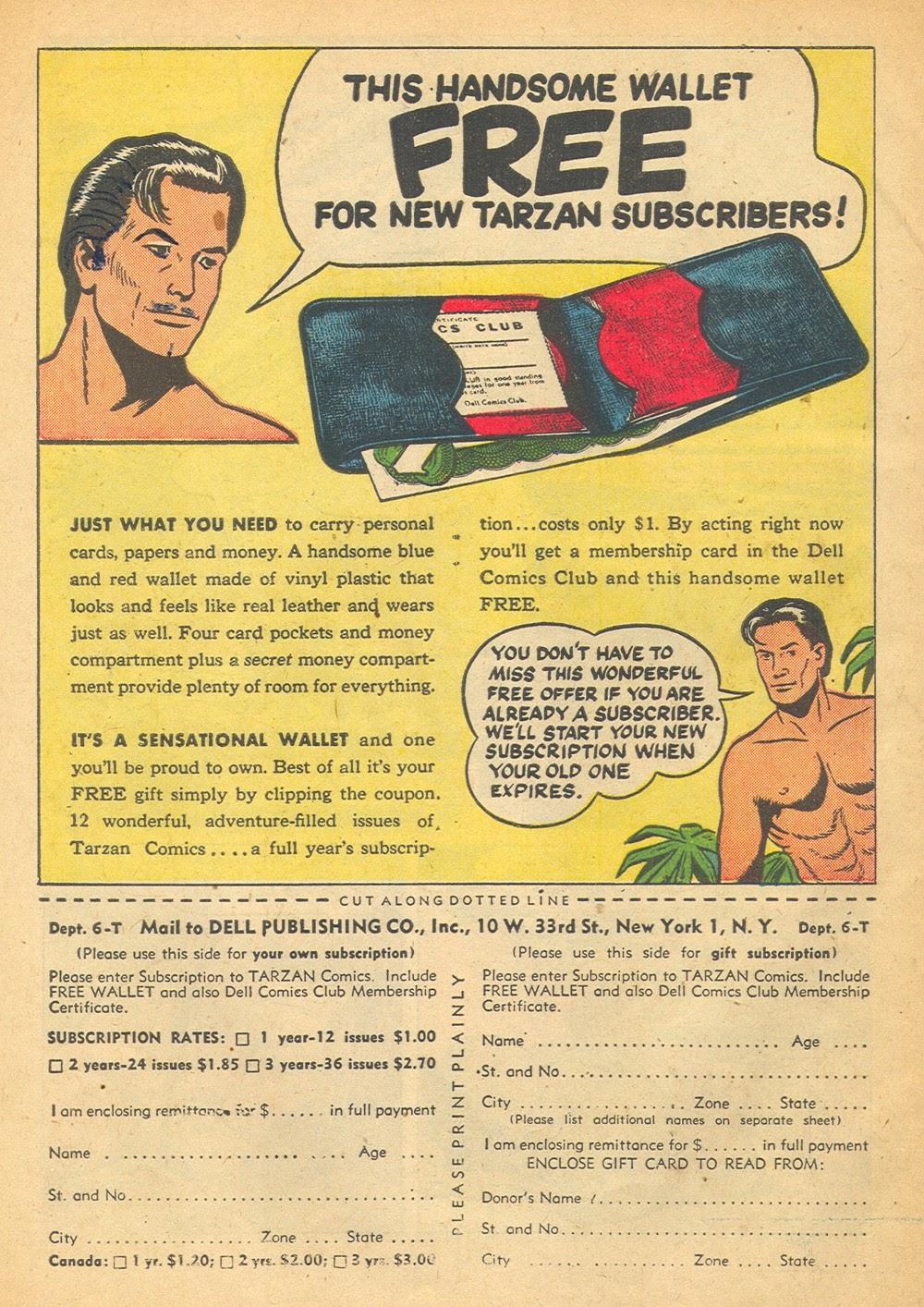 Tarzan (1948) issue 57 - Page 50