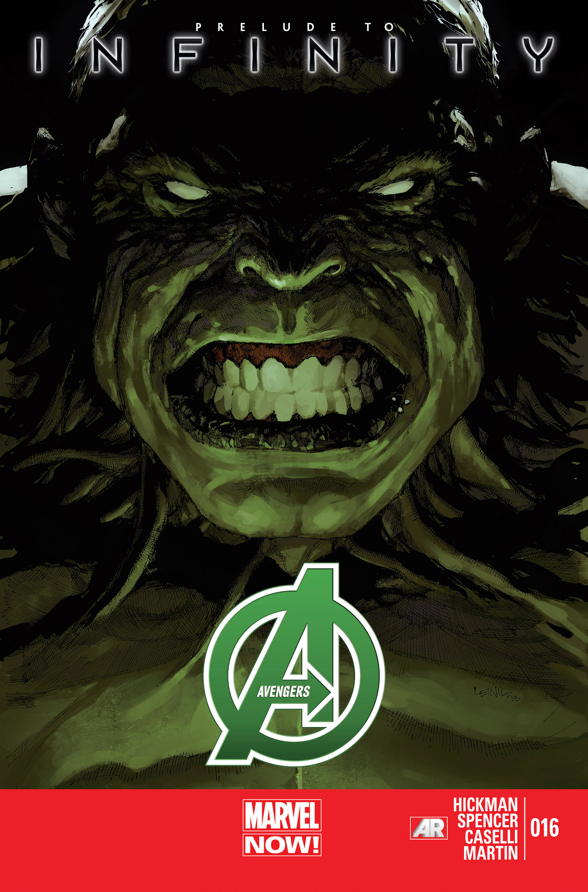 Read online Avengers (2013) comic -  Issue #16 - 1
