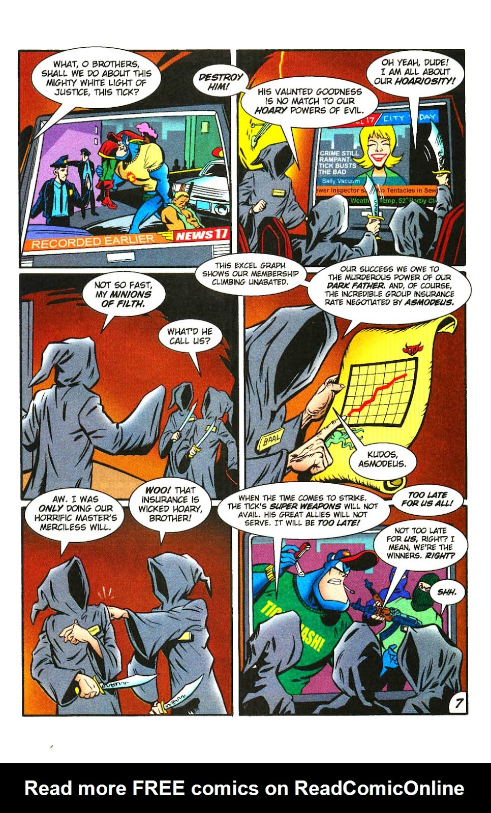 Read online The Tick: Days of Drama comic -  Issue #3 - 9