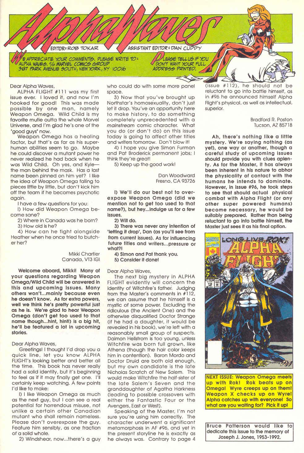 Read online Alpha Flight (1983) comic -  Issue #115 - 25
