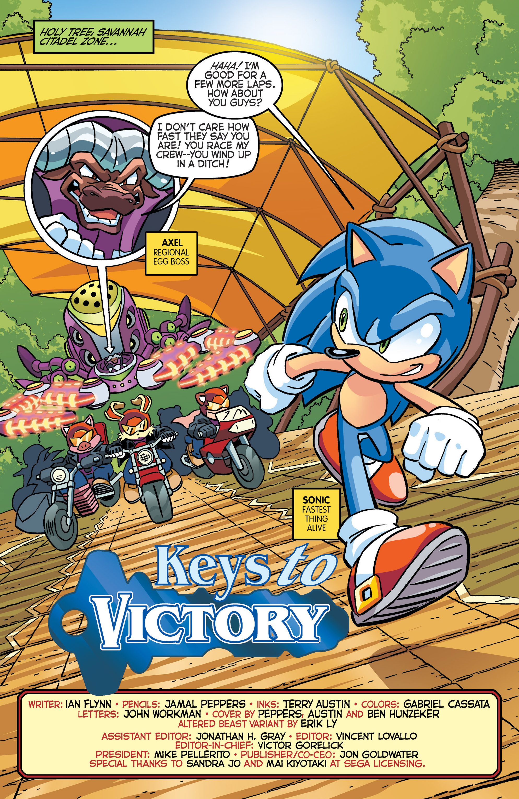 Read online Sonic The Hedgehog comic -  Issue #280 - 3