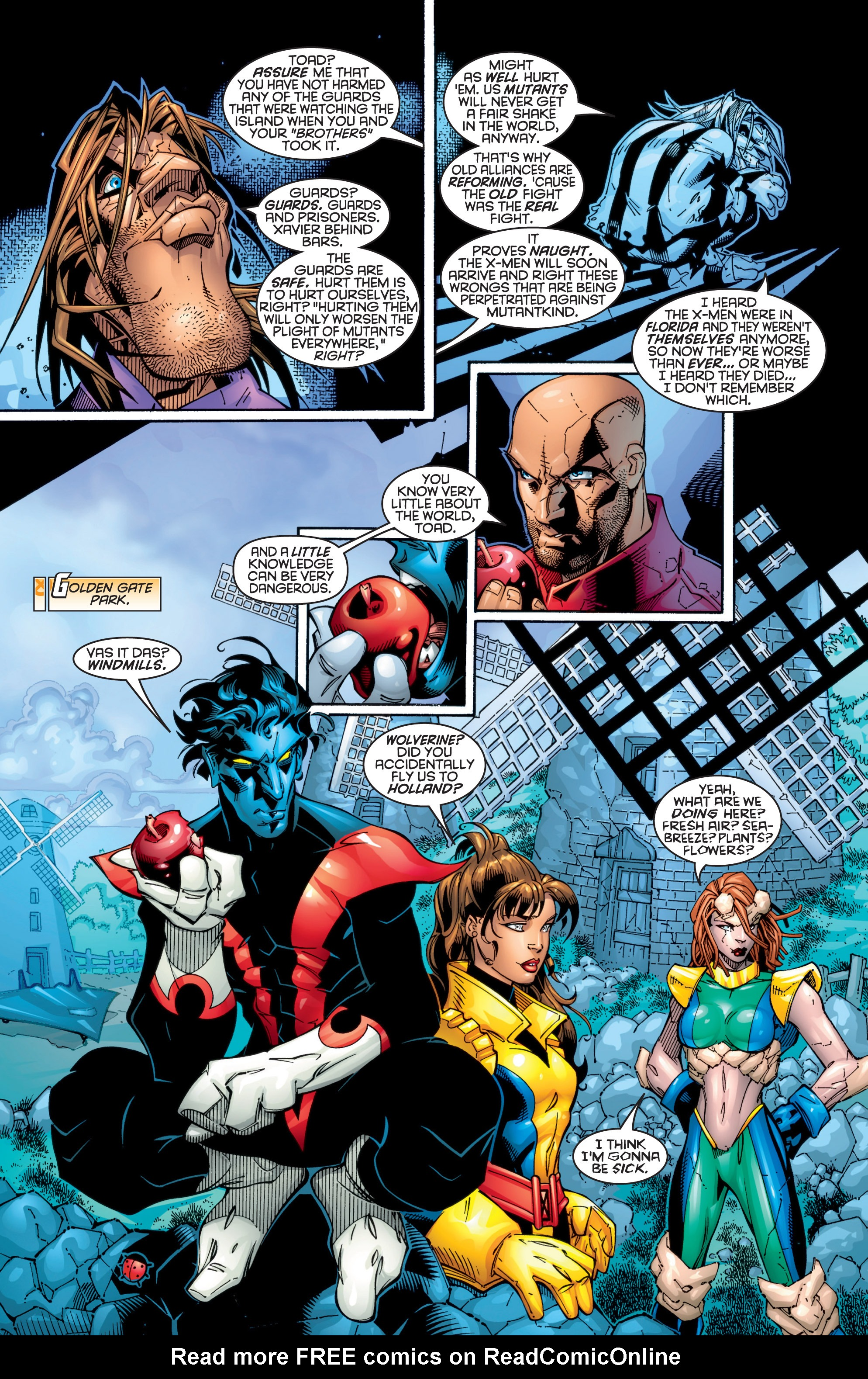 Read online Uncanny X-Men (1963) comic -  Issue #363 - 5