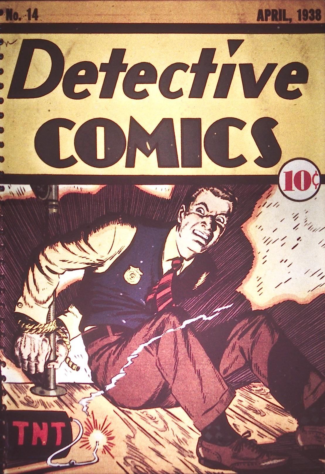 Detective Comics (1937) 14 Page 0