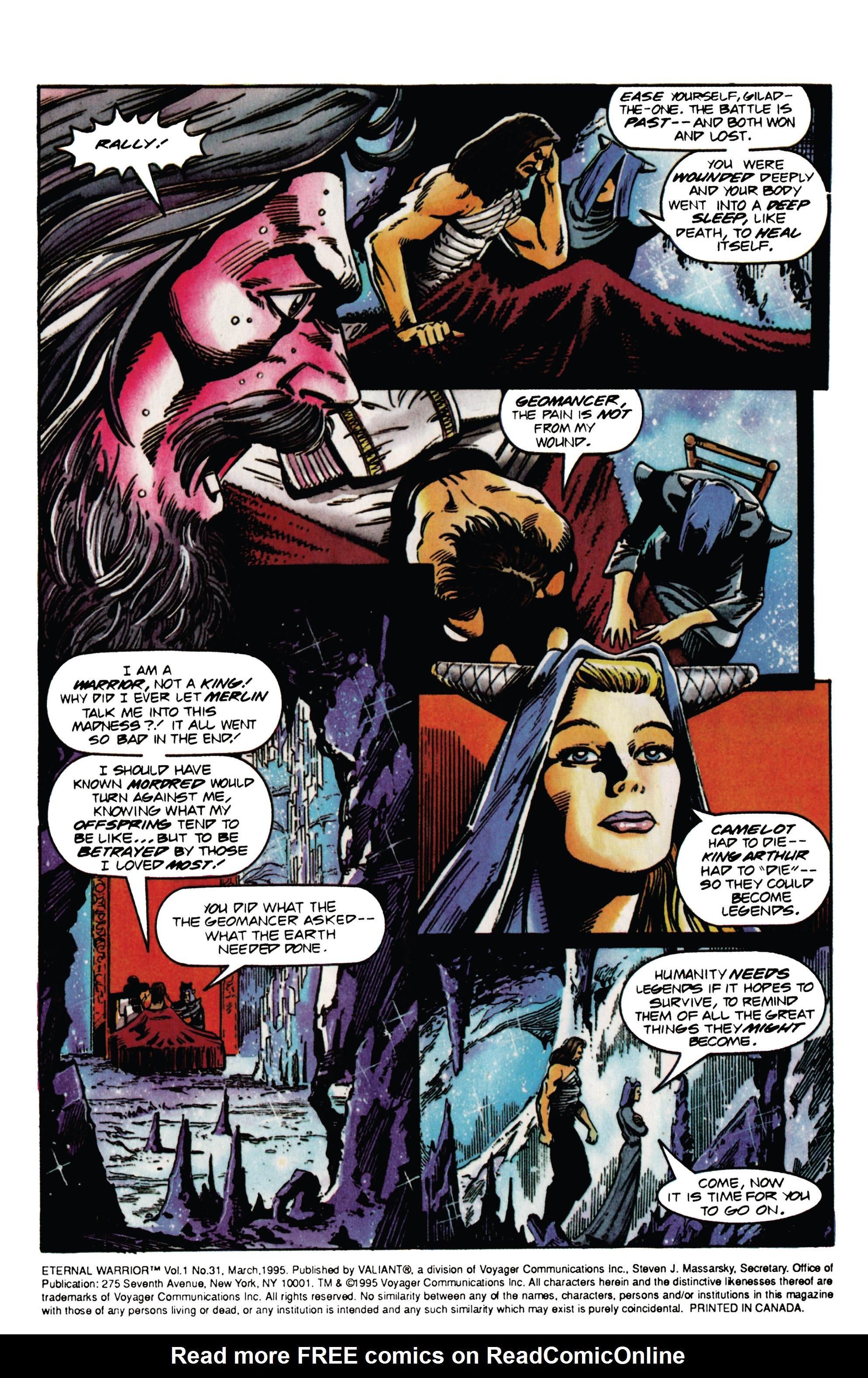 Read online Eternal Warrior (1992) comic -  Issue #31 - 5