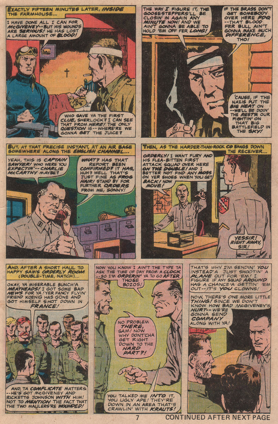 Read online Sgt. Fury comic -  Issue #141 - 9